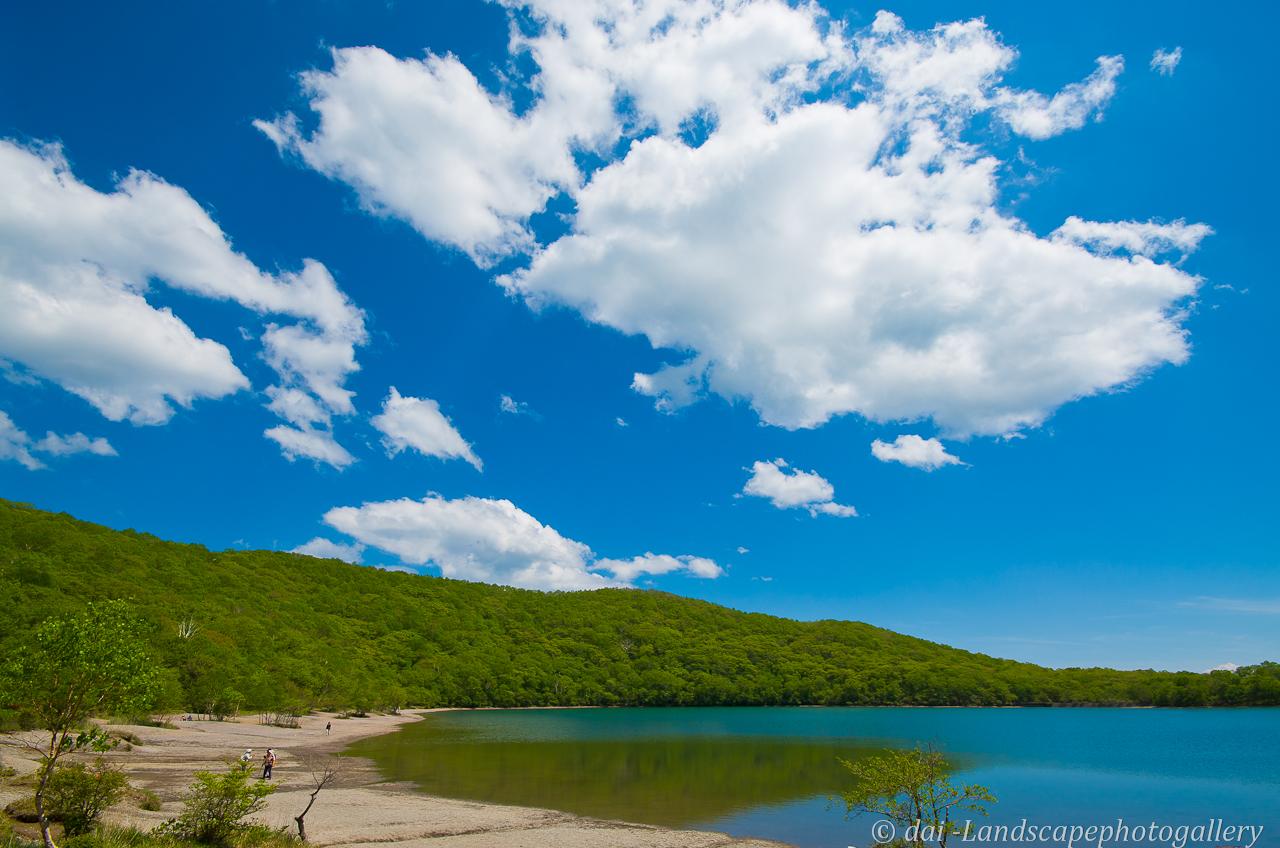 初夏の赤城山 小沼湖畔にて