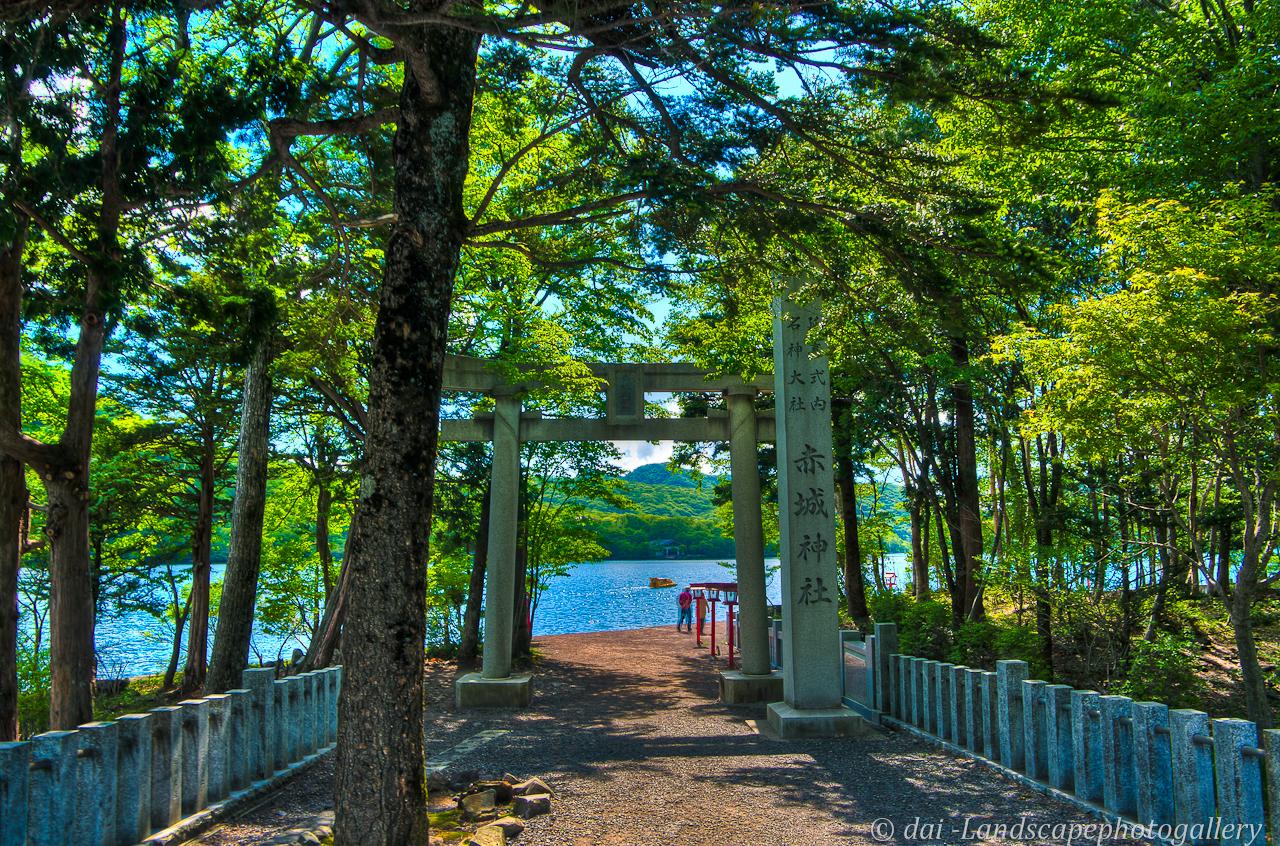 初夏の赤城山 赤城神社にて【HDRi】