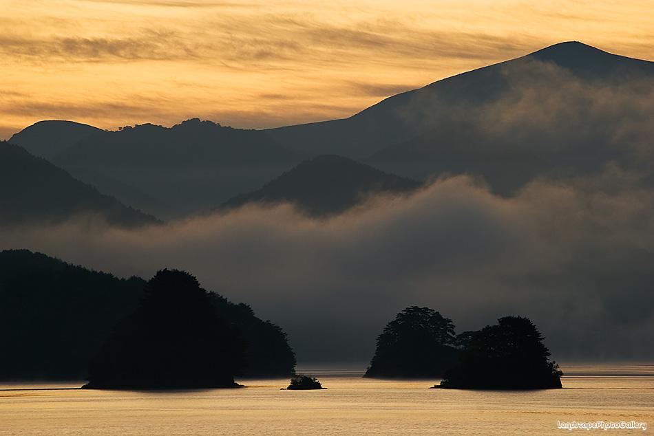 秋元湖 朝景