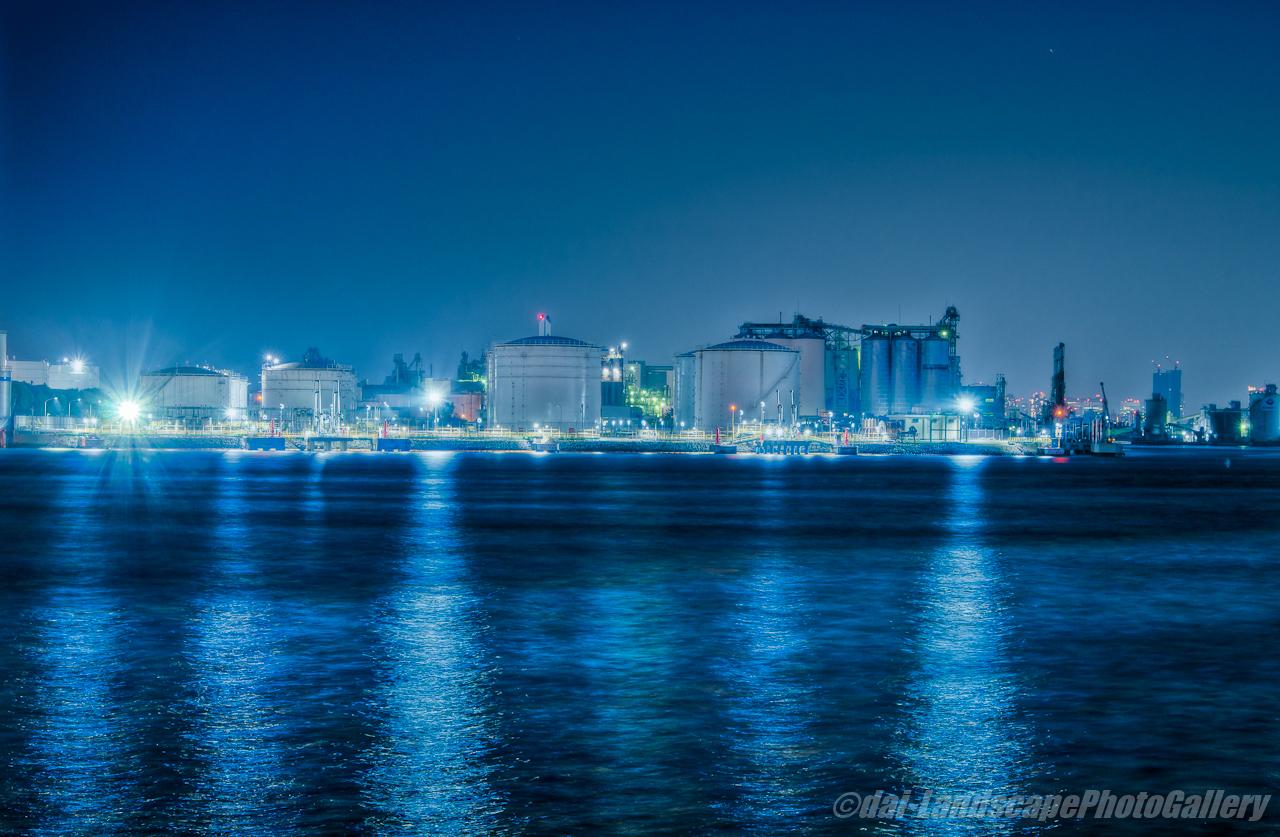 千葉港夜景【HDRi】