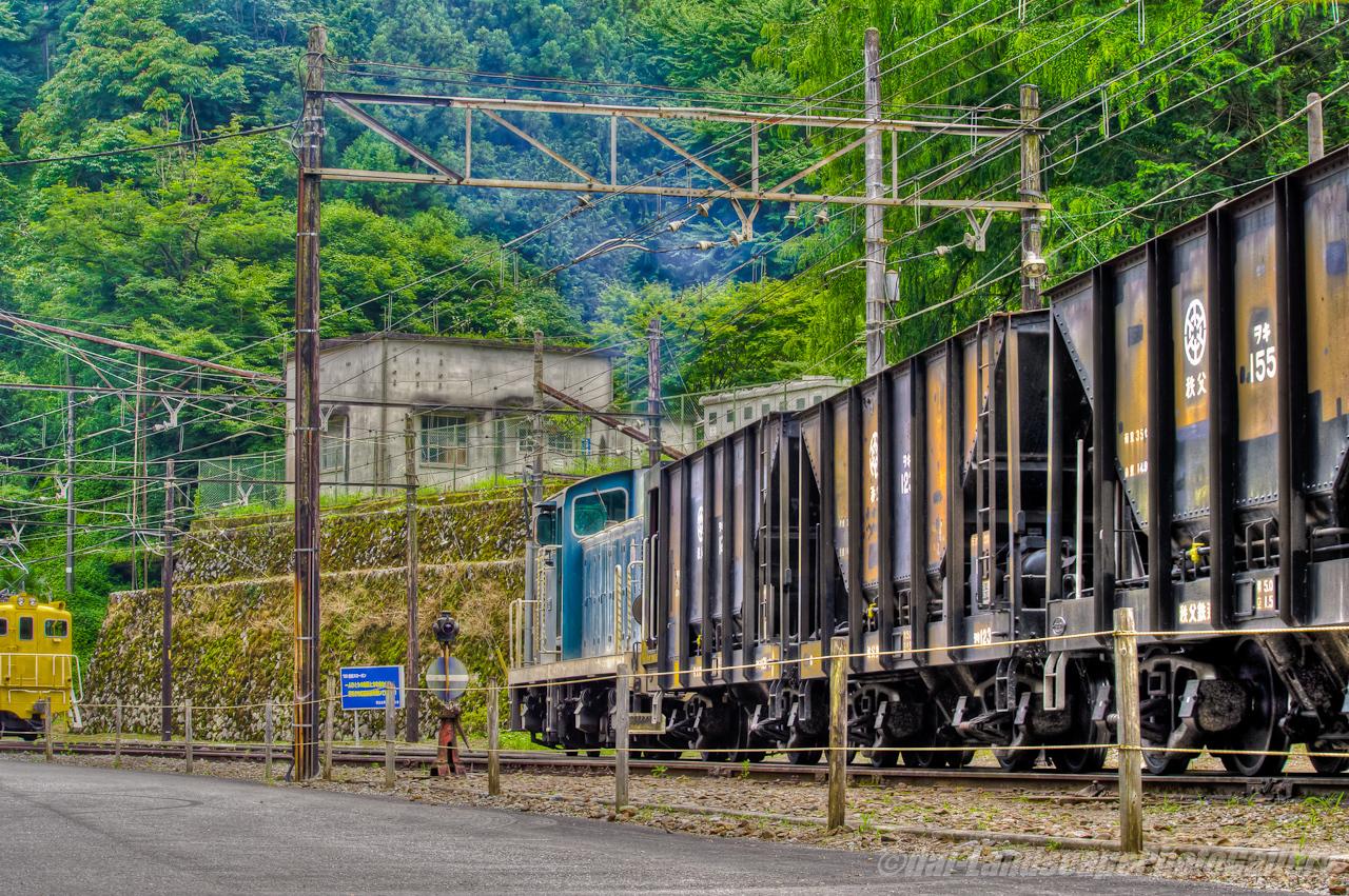 秩父鉄道三輪線 三輪鉱業所風景【HDRi】