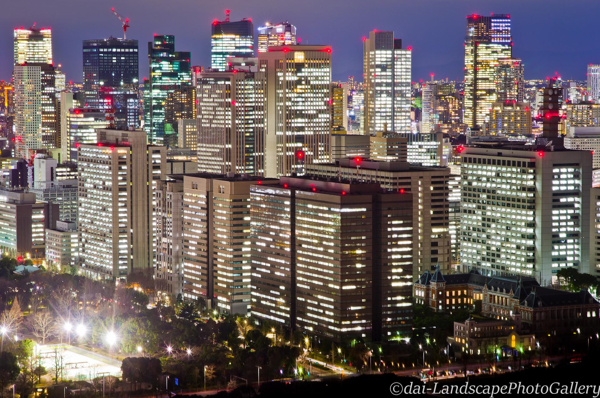 東京丸ビル夜景