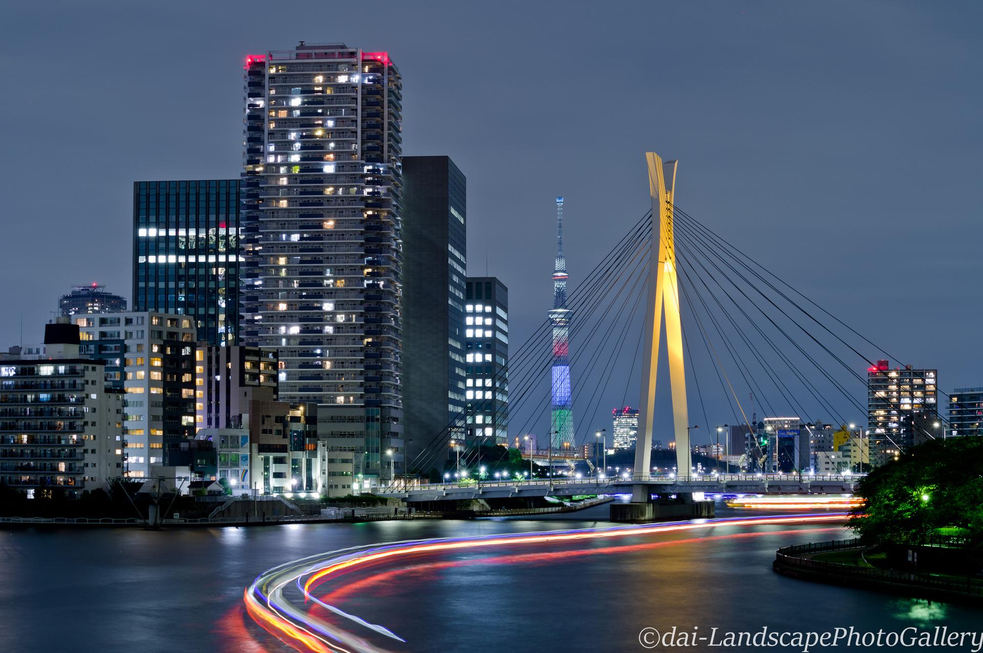 佃大橋夜景