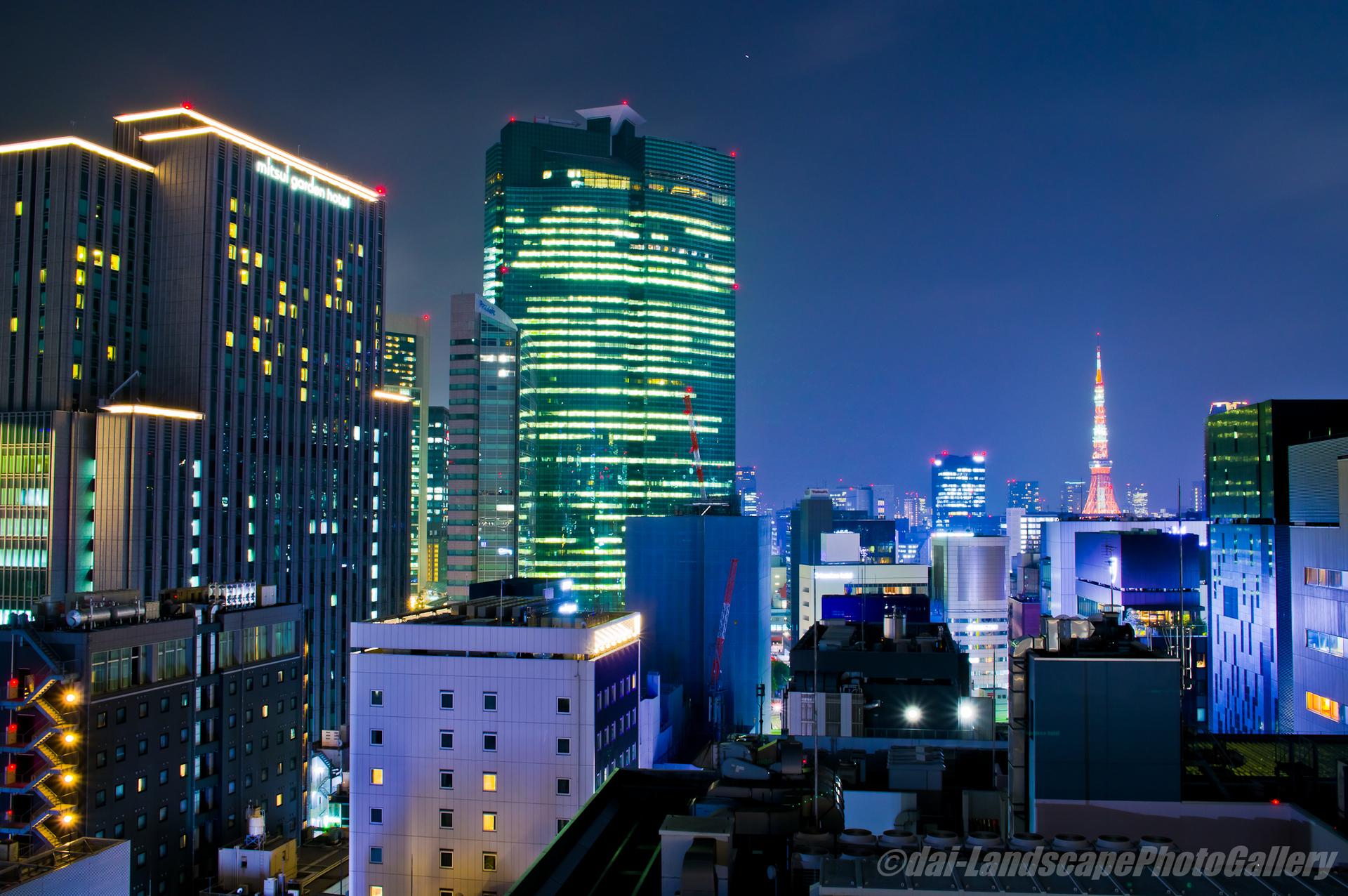 GINZA SIX屋上夜景