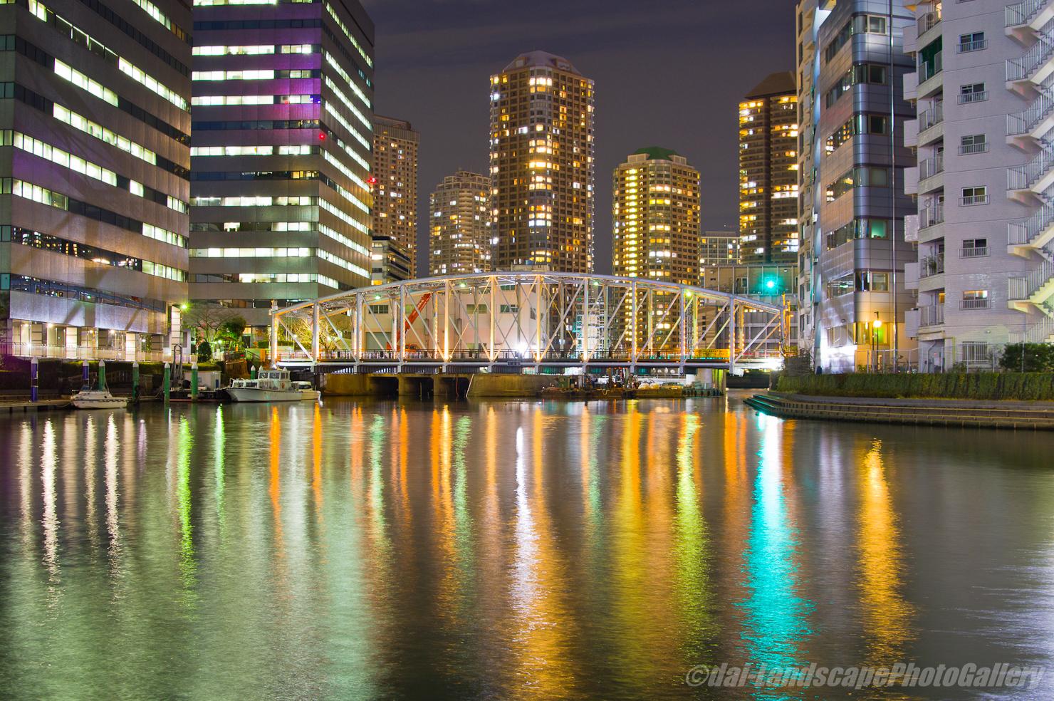 南高橋夜景