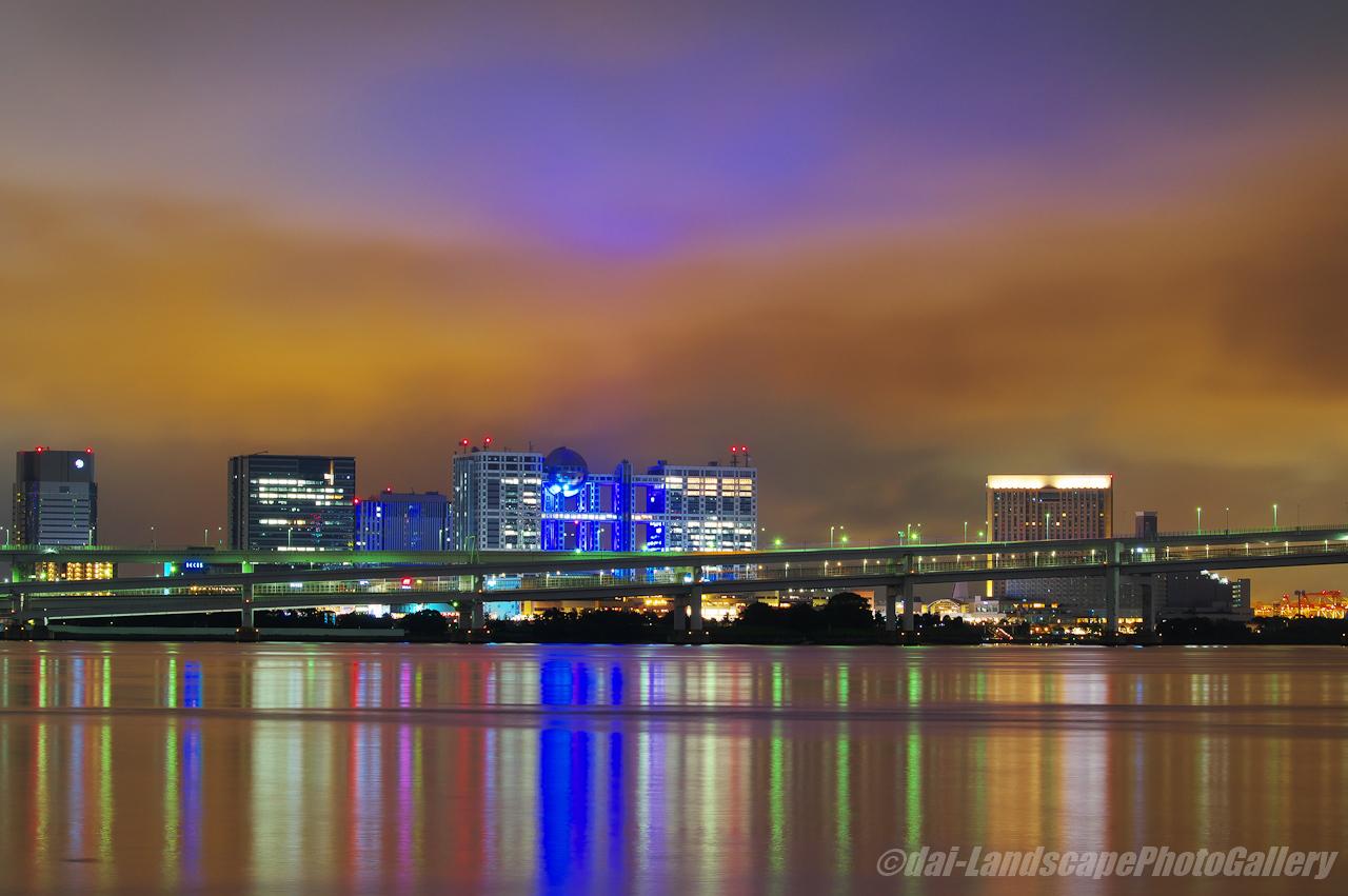東京湾岸お台場夜景