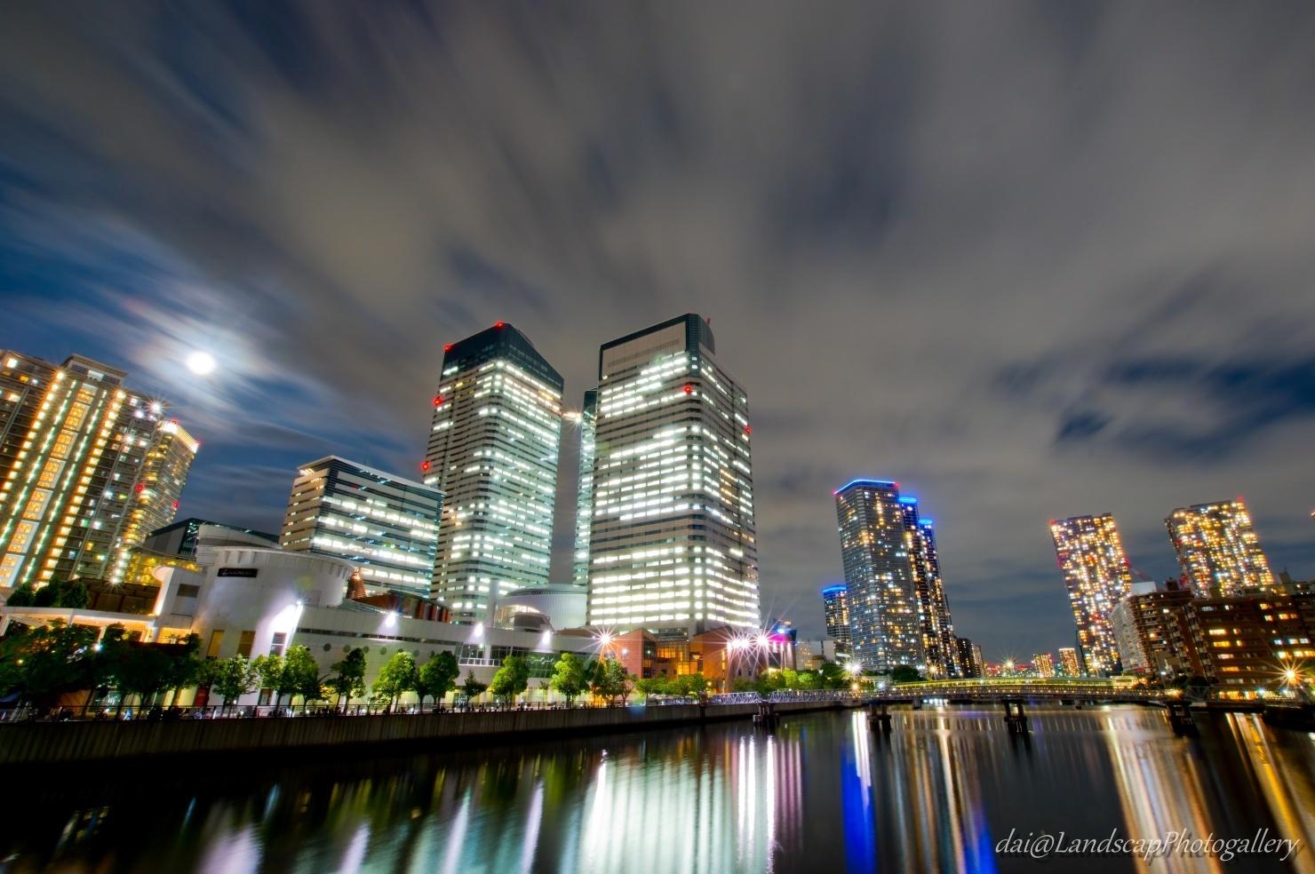 晴月橋からの豊洲夜景