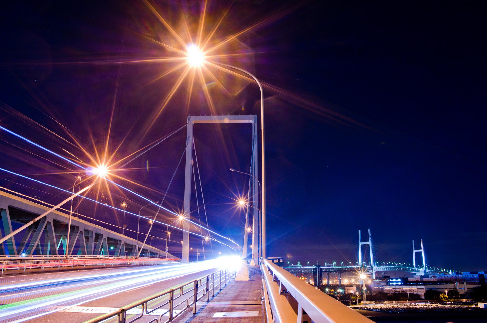 大黒大橋夜景