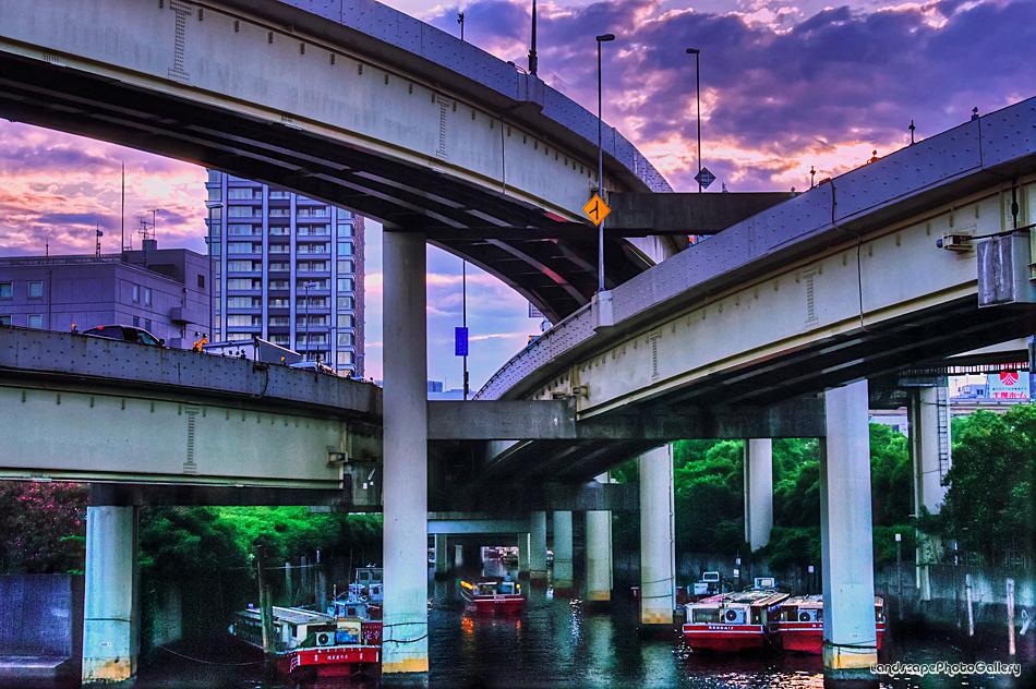 古川河口 浜崎橋JCT【HDRi】