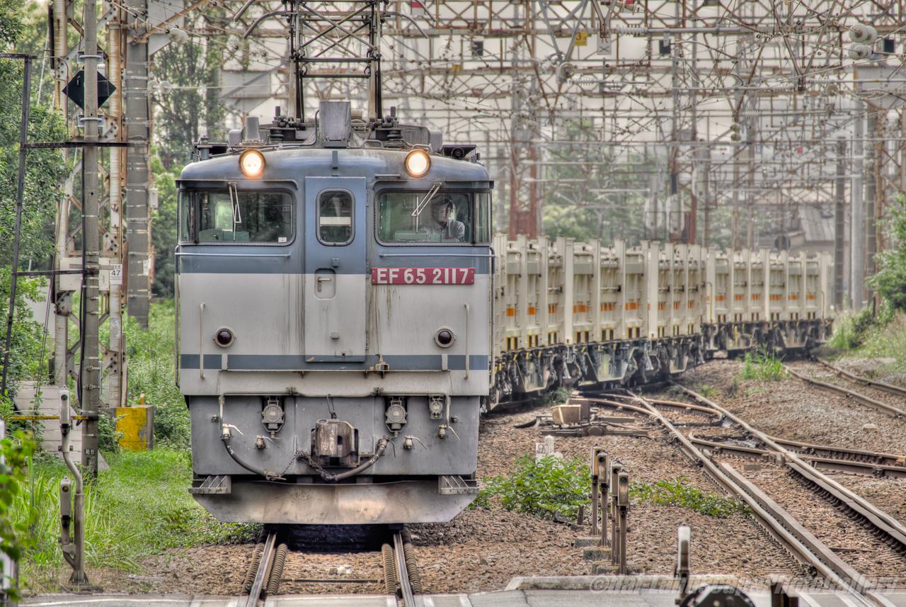リニア残土輸送列車【HDRi】