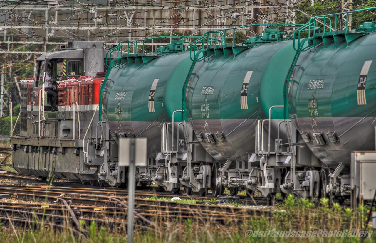 浜川崎貨物列車風景【HDRi】