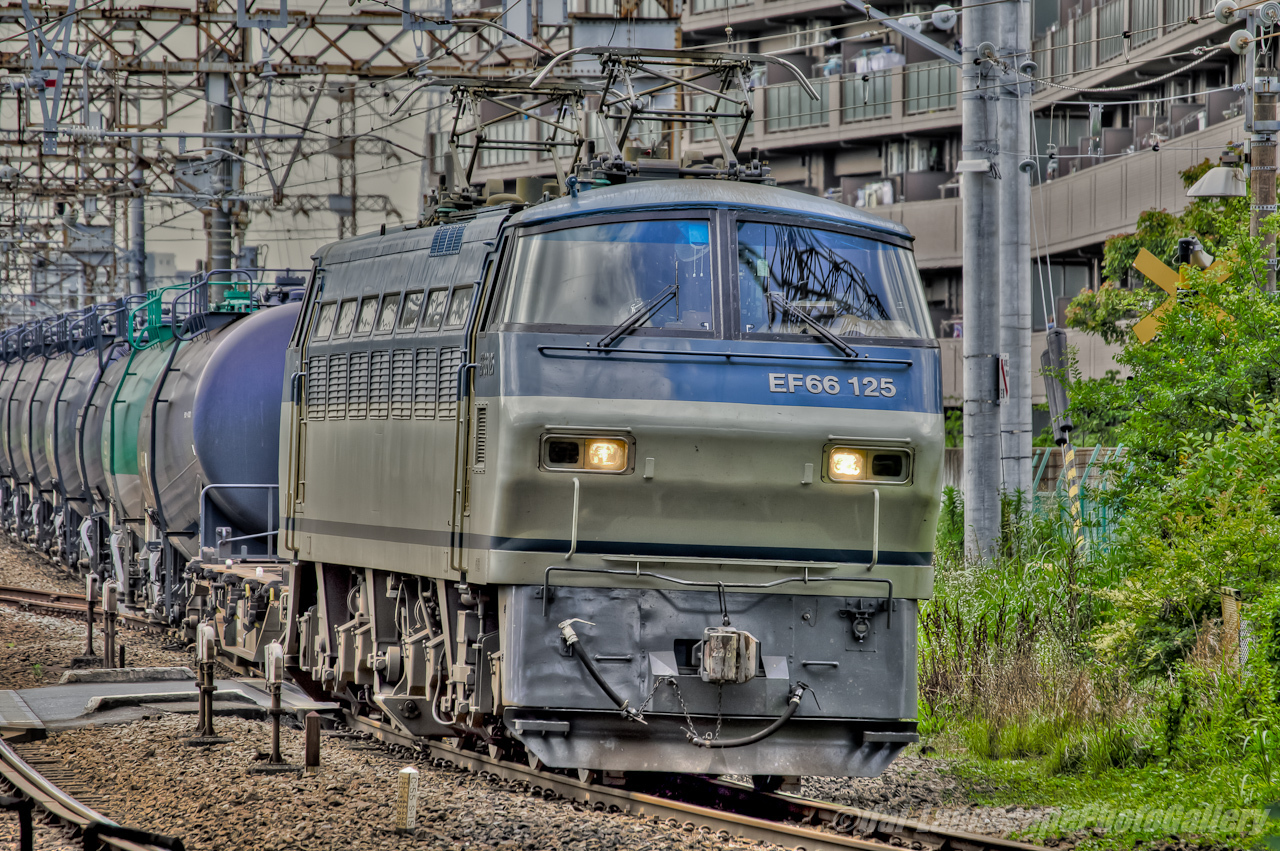 石油専用列車風景【HDRi】