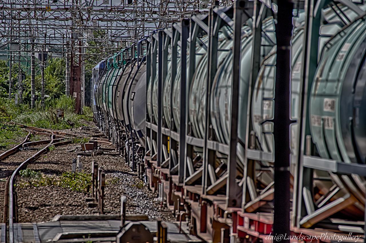 8763レ倉賀野行き臨時貨物列車【HDRi】