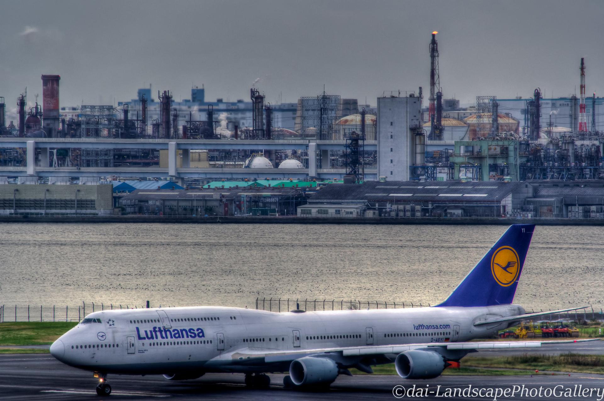 ボーイング747~Lufthansa~【HDRi】