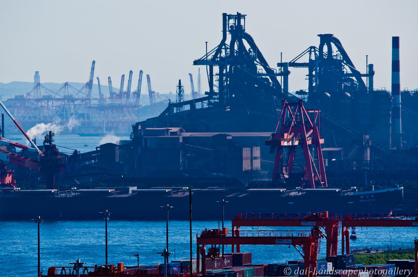 JFEスチール東日本製鉄所風景