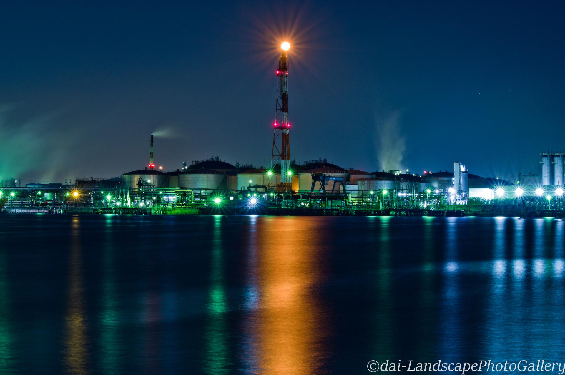 東扇島工場夜景