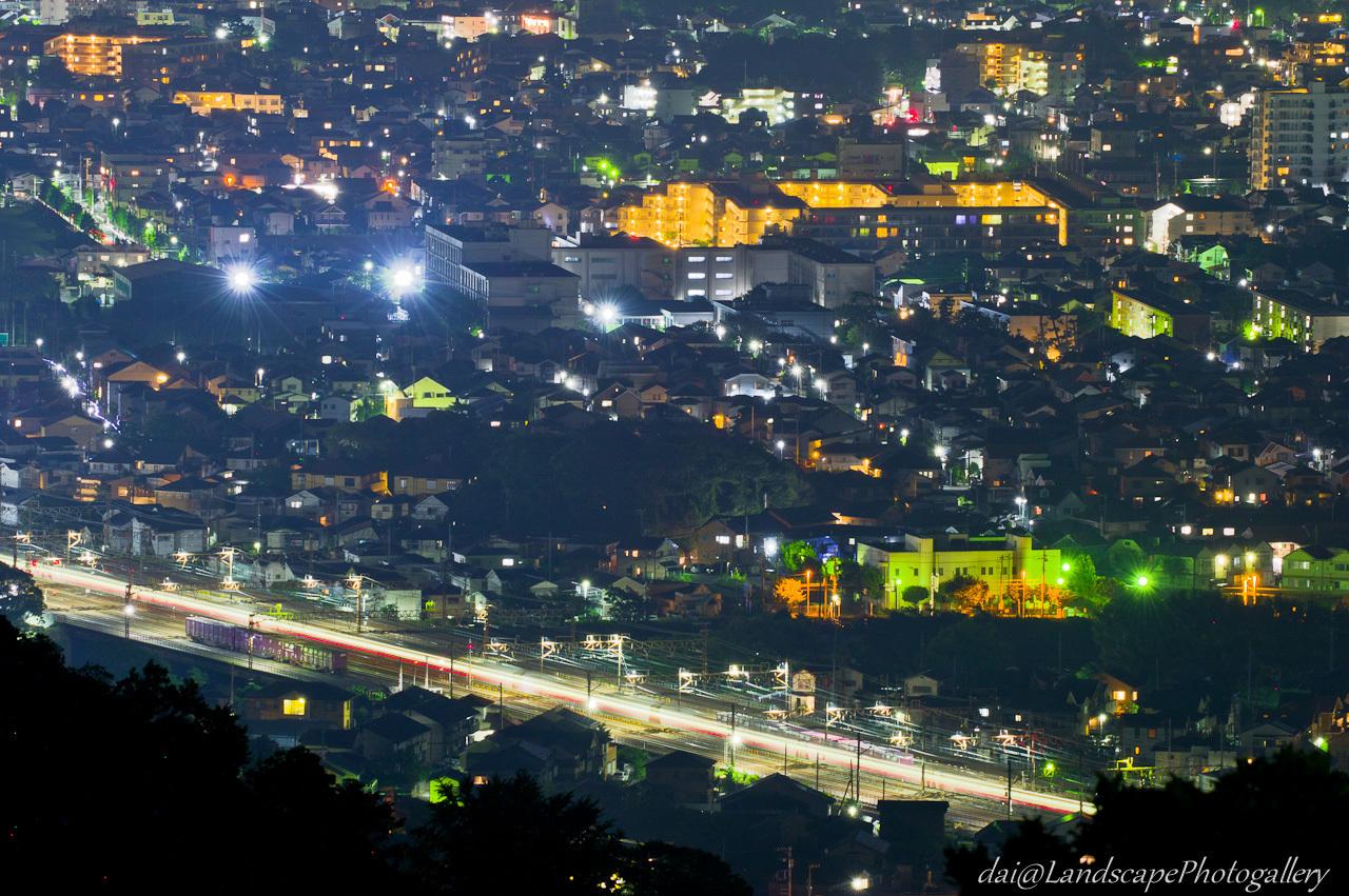 平塚市街の夜景