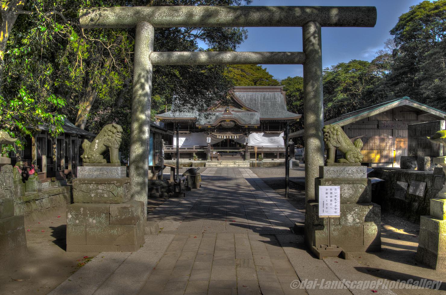 酒列磯前神社【HDRi】