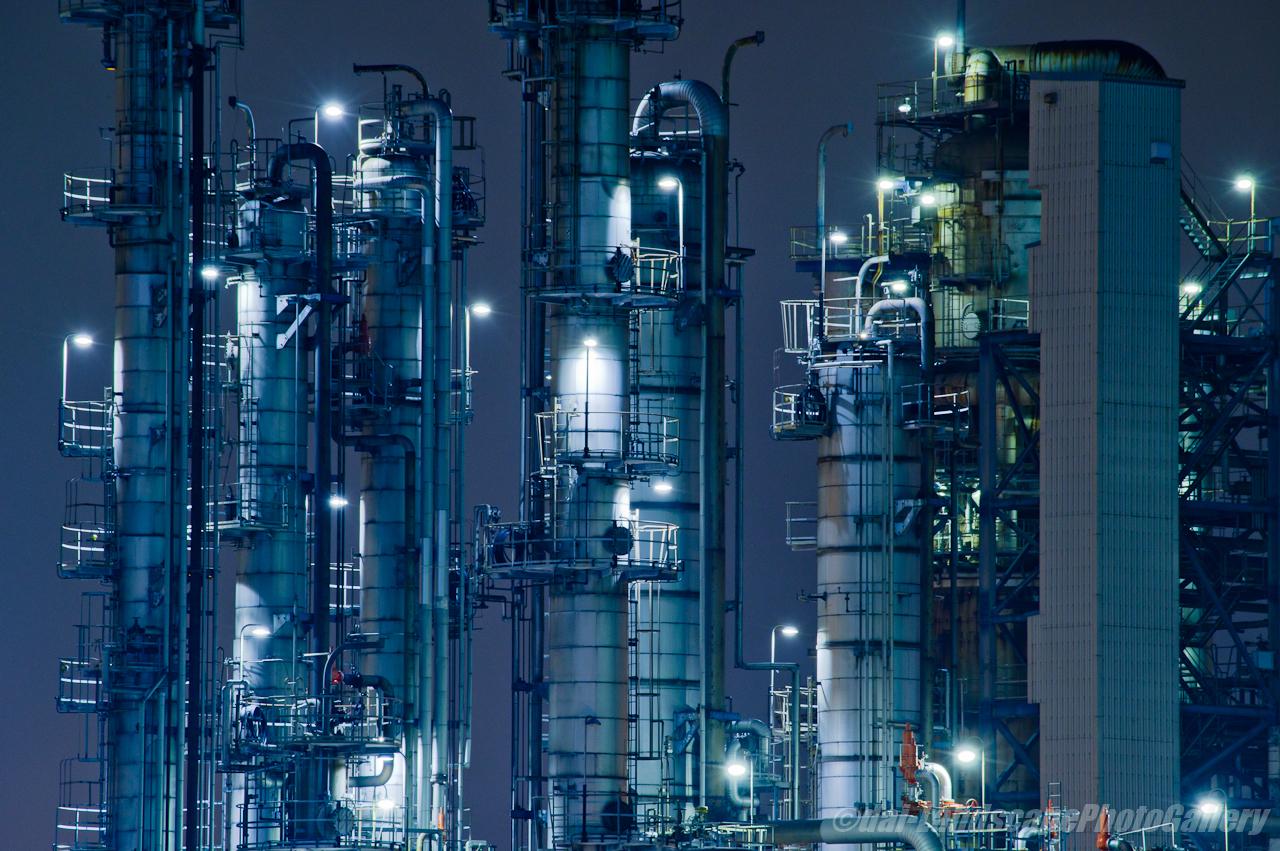 JXTGエネルギー千葉製油所夜景