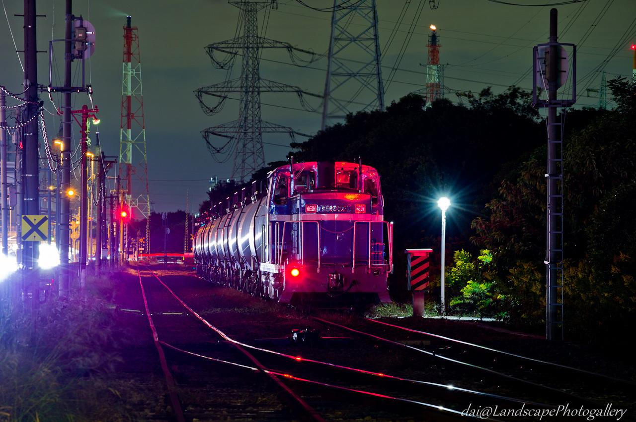 浜五井駅夜景