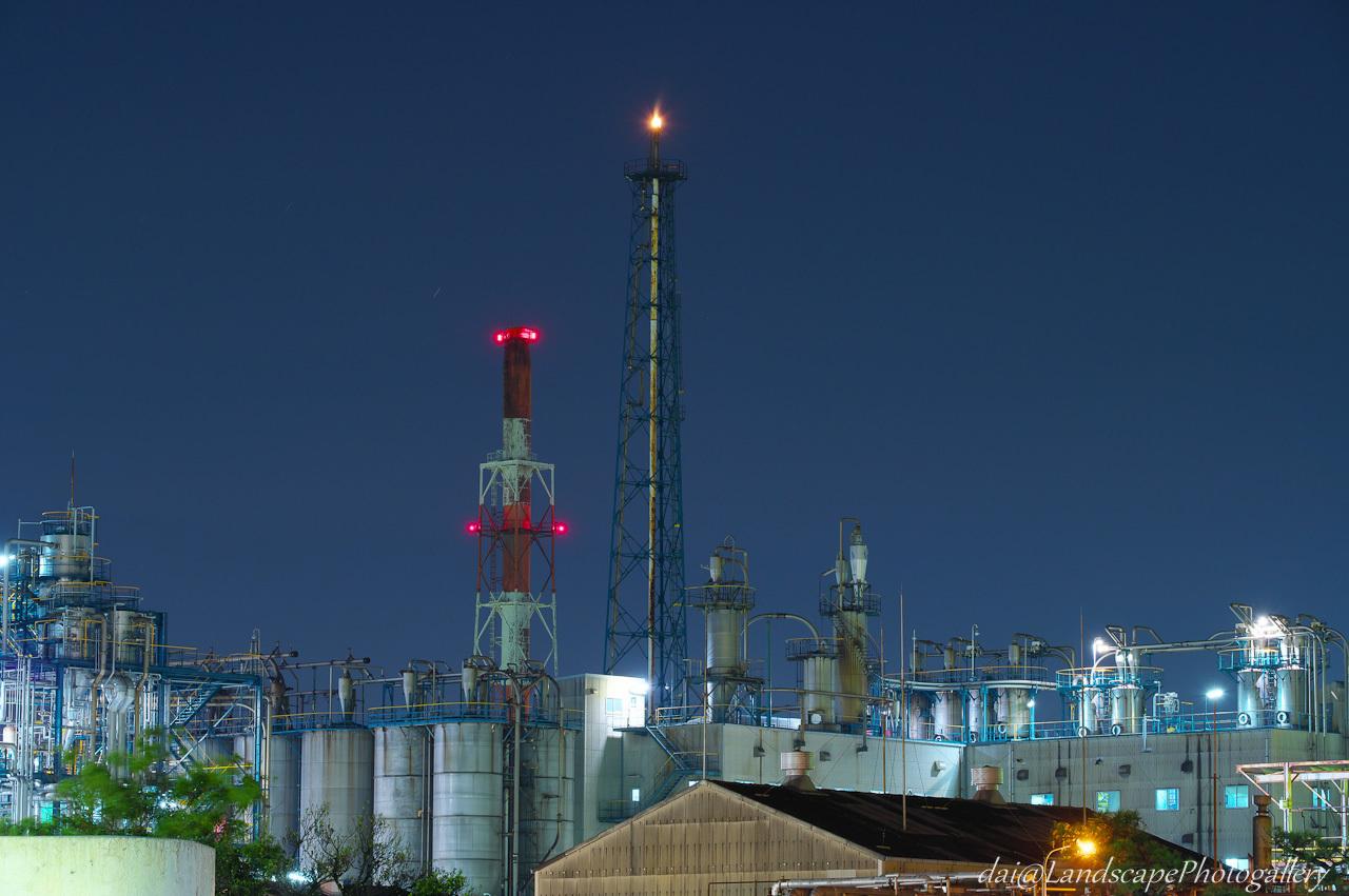 コスモ石油千葉製油所夜景