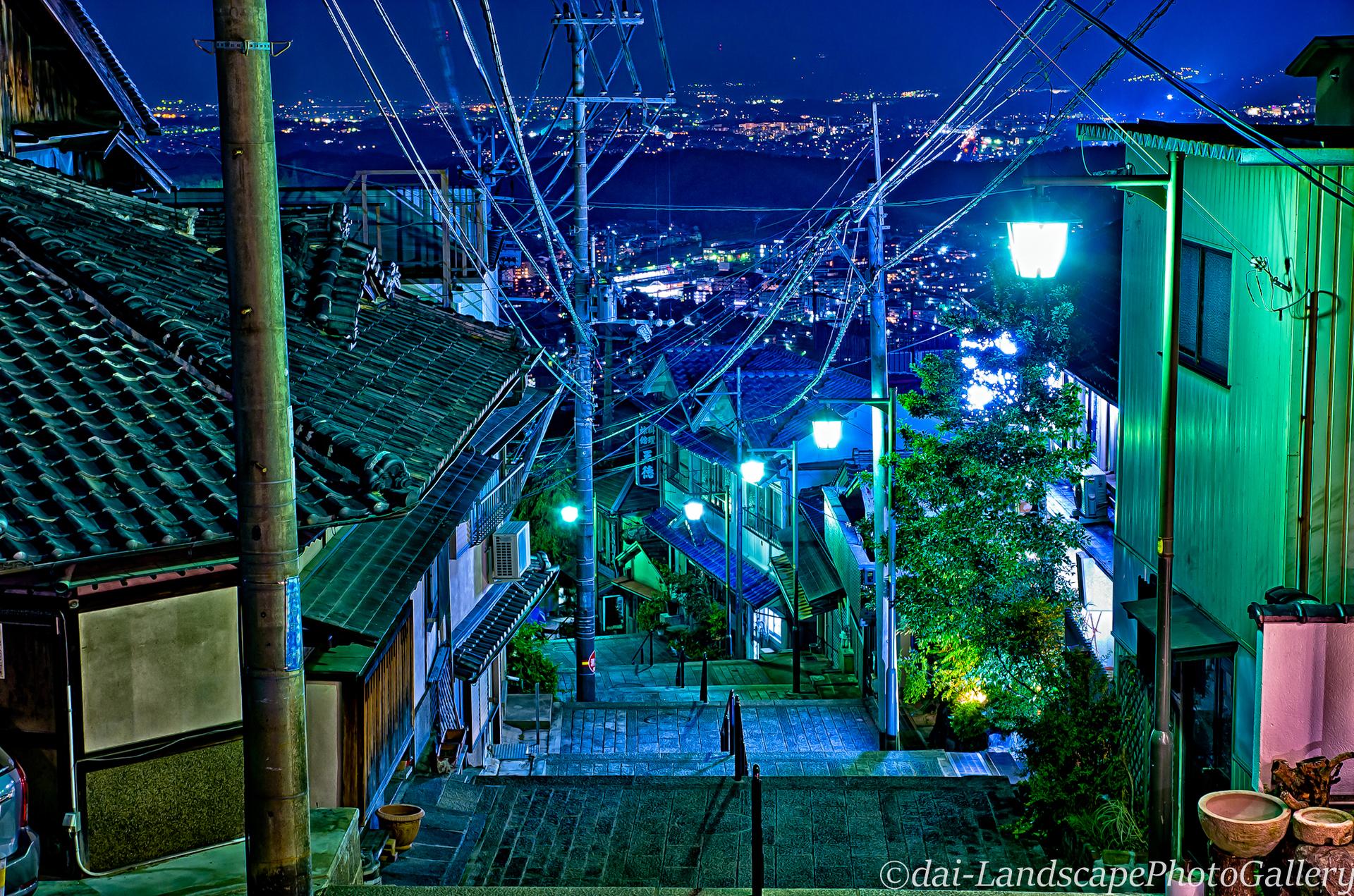 夜の高野山【HDRi】