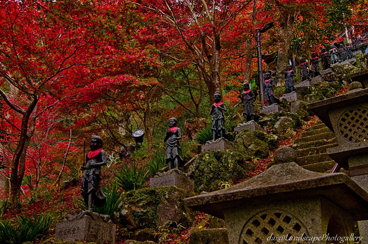 秋の大山寺風景【HDRi】