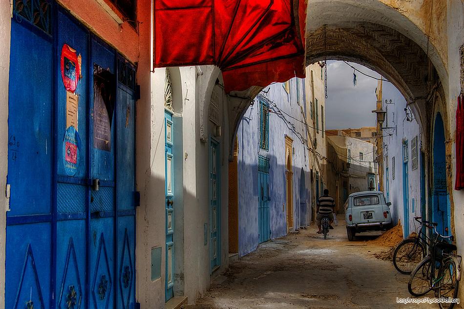 チュニジア カイルアン(ケロアン)の風景【HDRi】