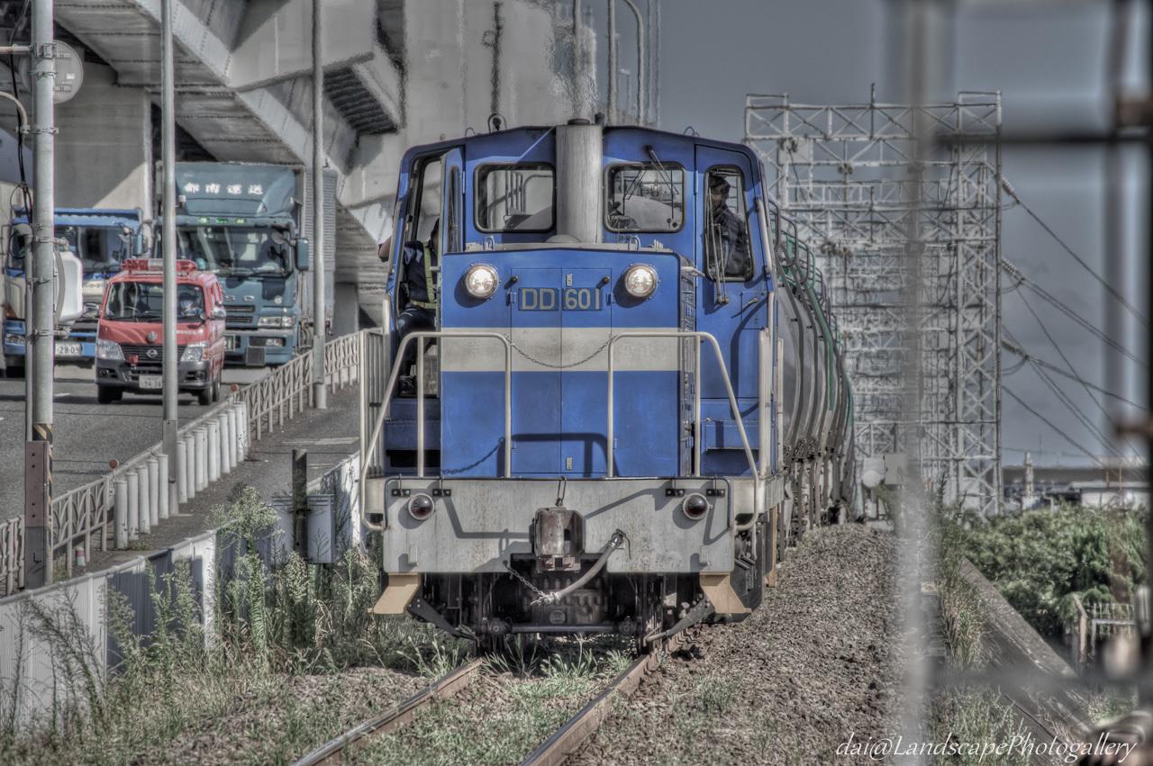 神奈川臨海鉄道浮島線の貨物列車