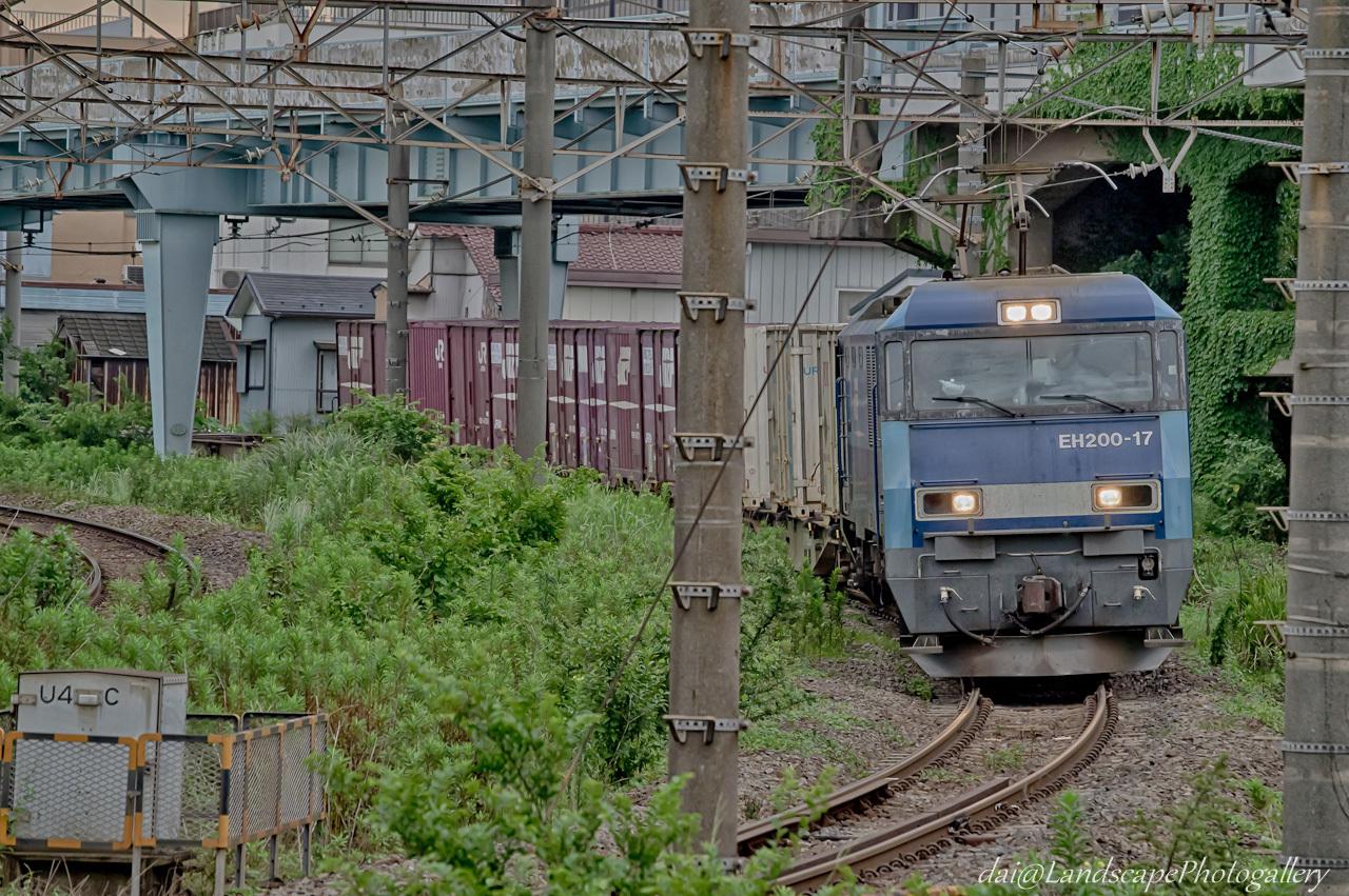 EH200-17 コンテナ列車【HDRi】