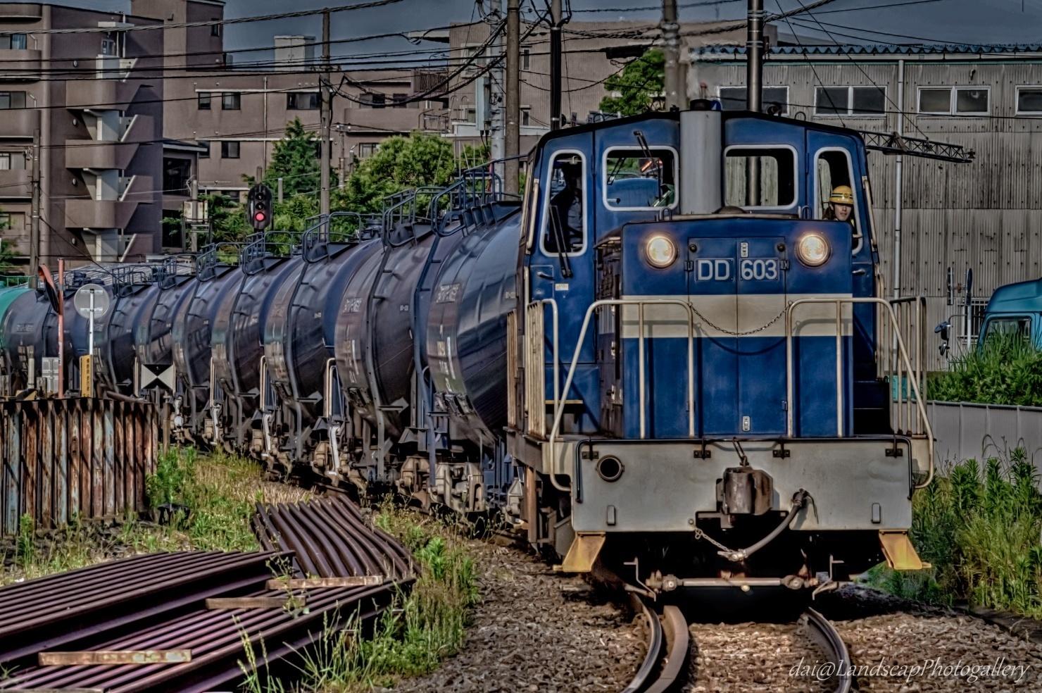 神奈川臨海鉄道貨物列車【HDRi】