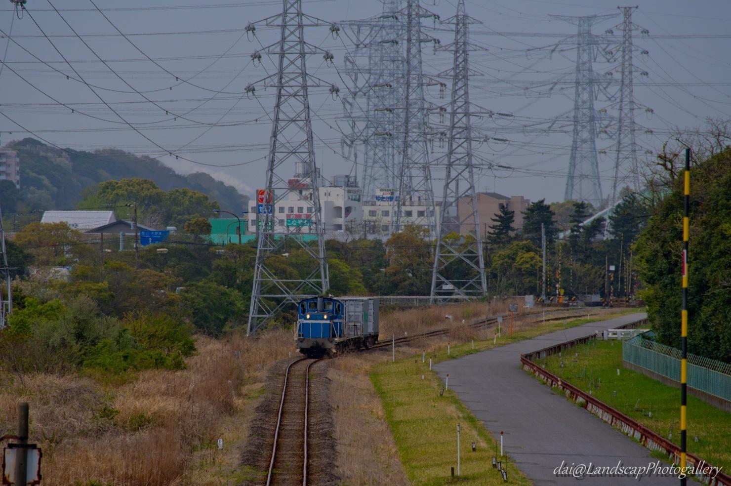 京葉臨海鉄道貨物列車風景