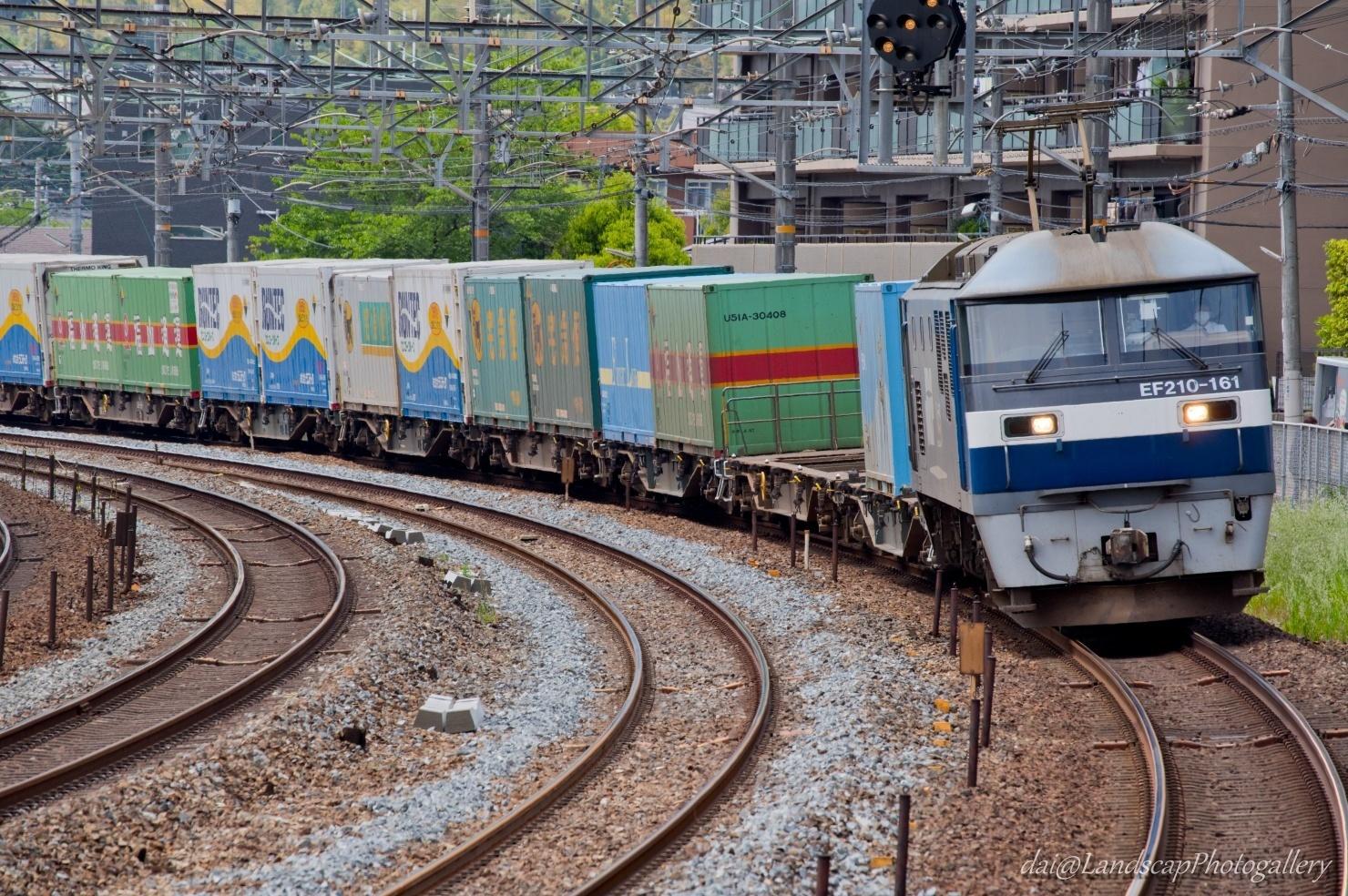 EF210-161 コンテナ列車