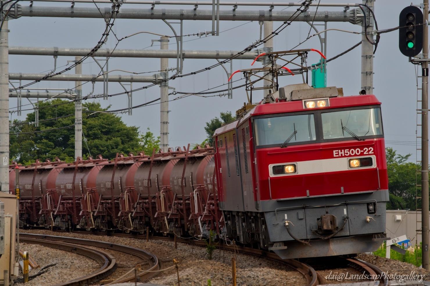 EH500-22牽引 安中貨物