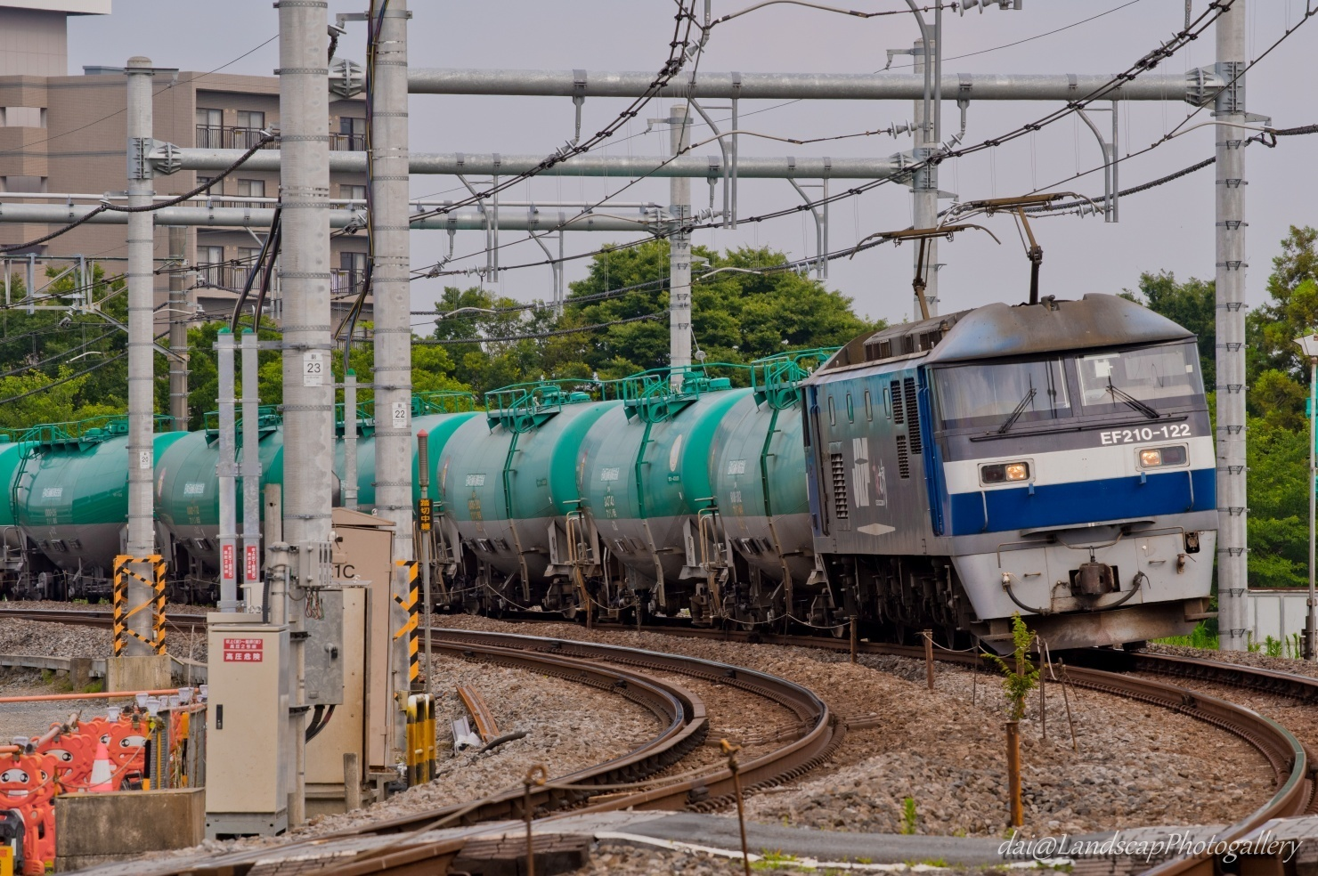 EF210-122 石油専用列車