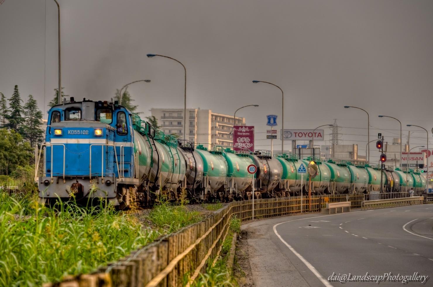 京葉臨海鉄道 KD55 102 石油専用列車【HDRi】