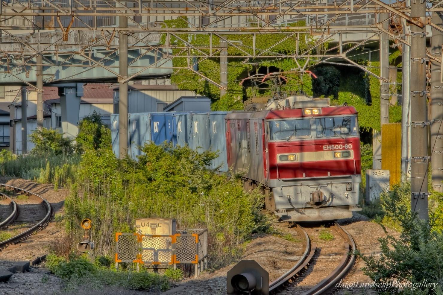 EH500-80 コンテナ列車【HDRi】