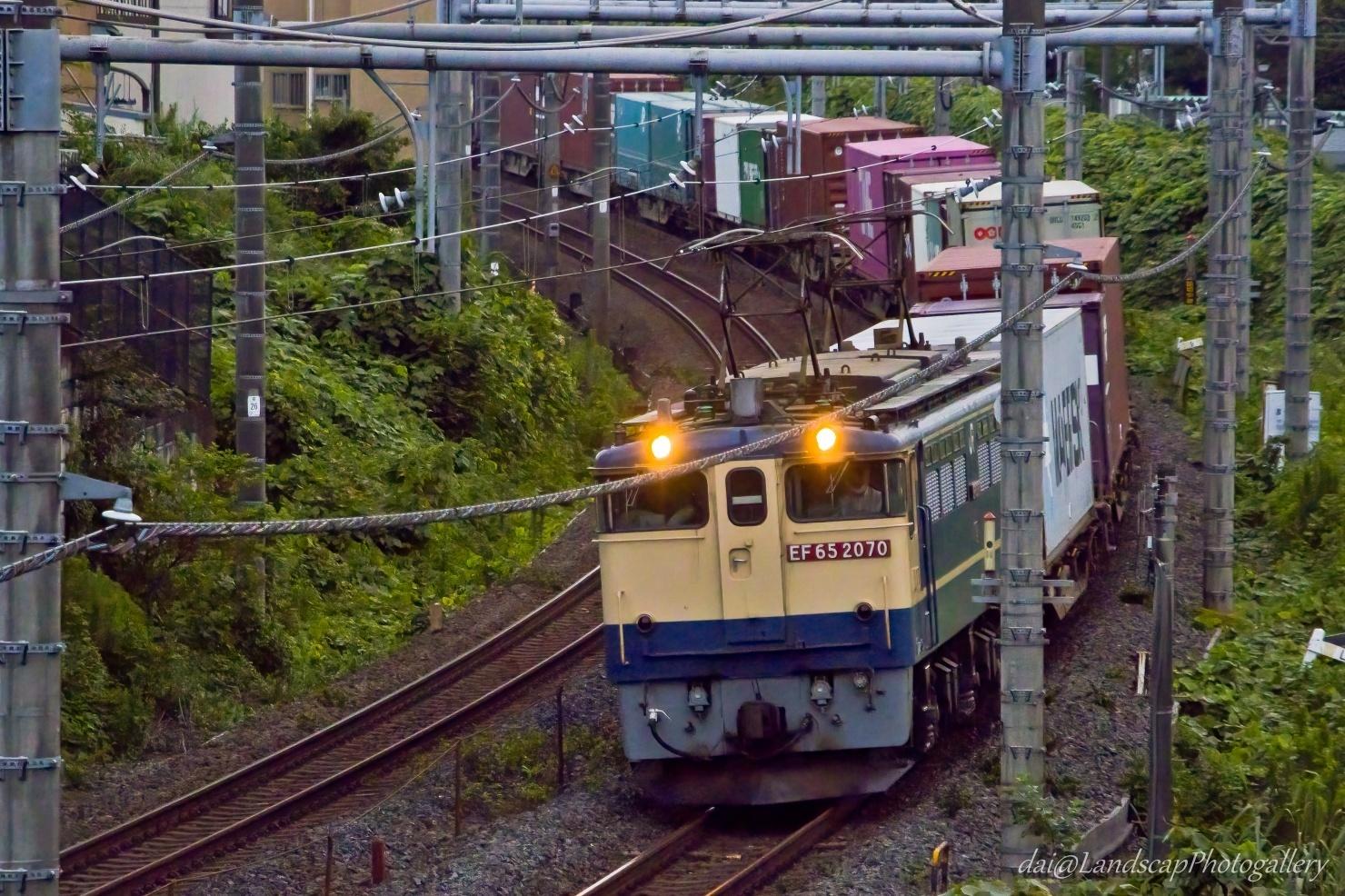 EF65-2070 海上コンテナ列車