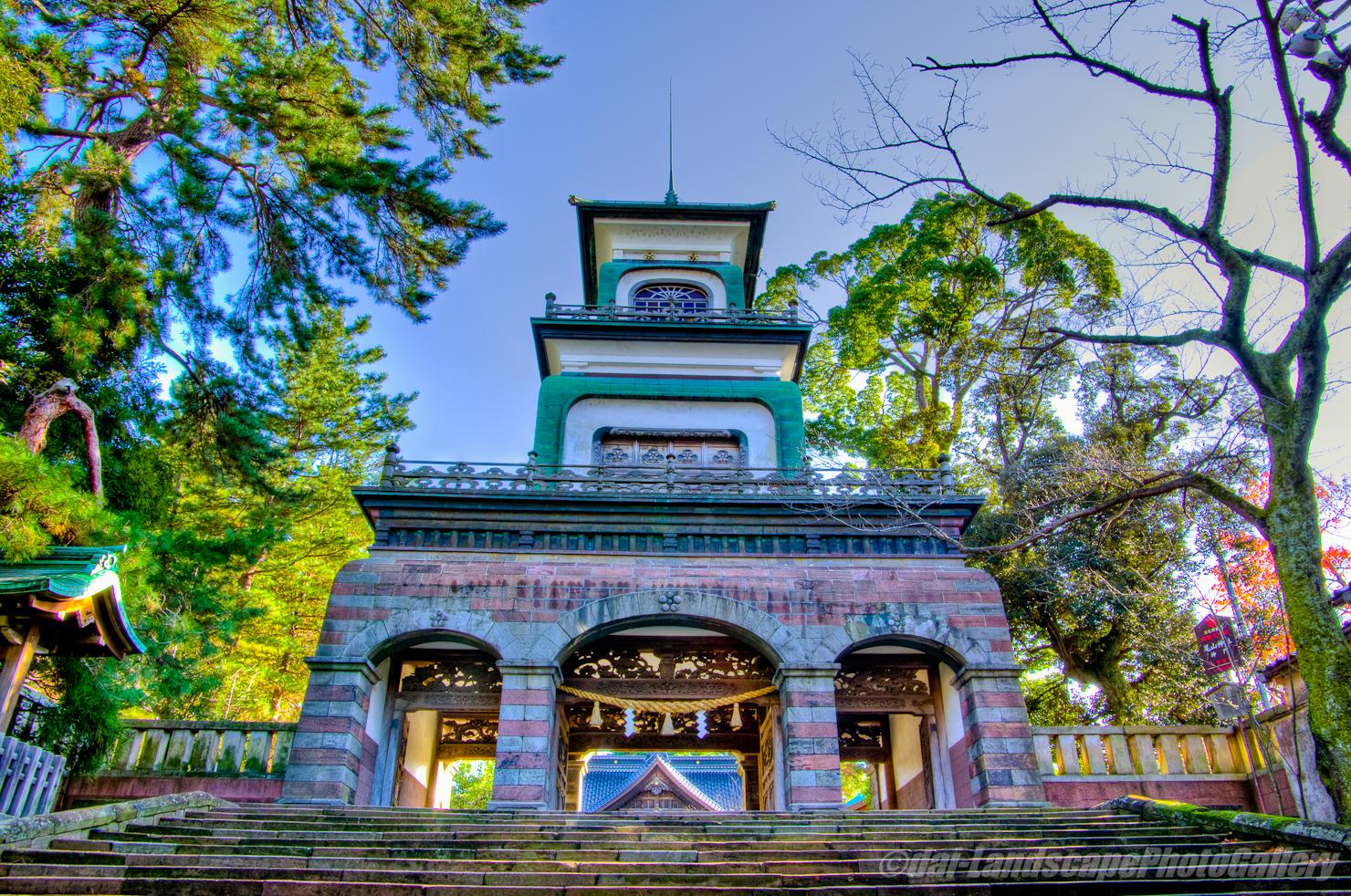 尾山神社【HDRi】