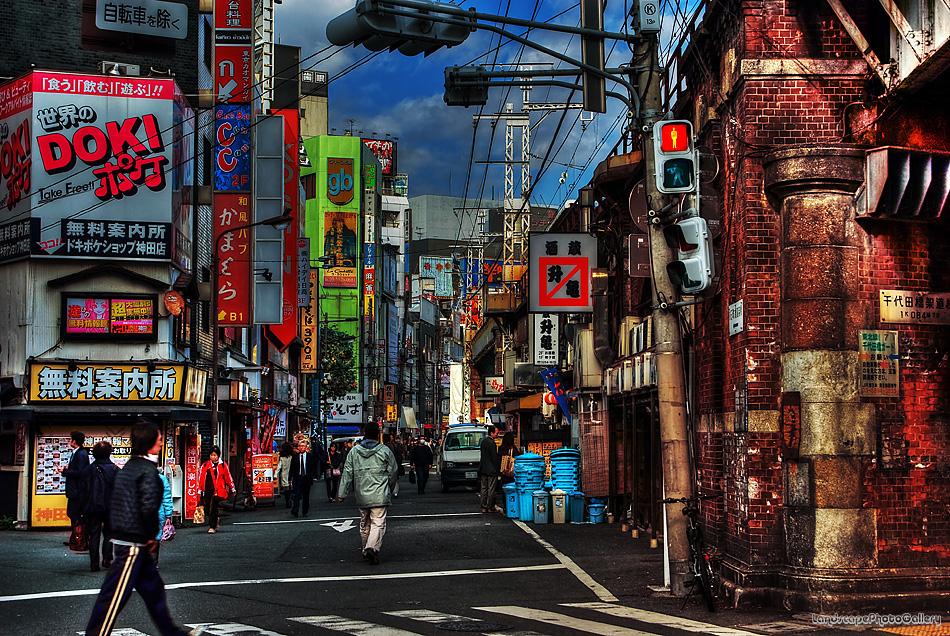 神田の街【HDRi】