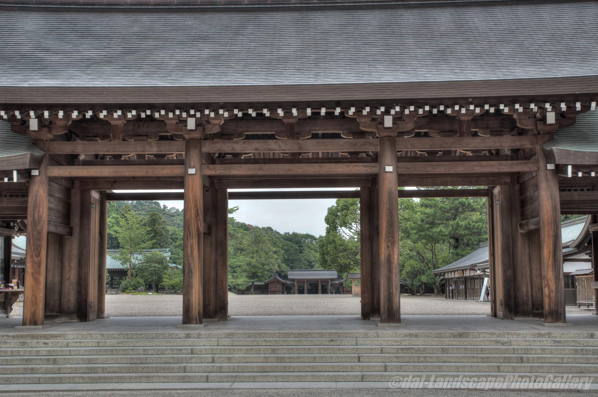 橿原神宮【HDRi】