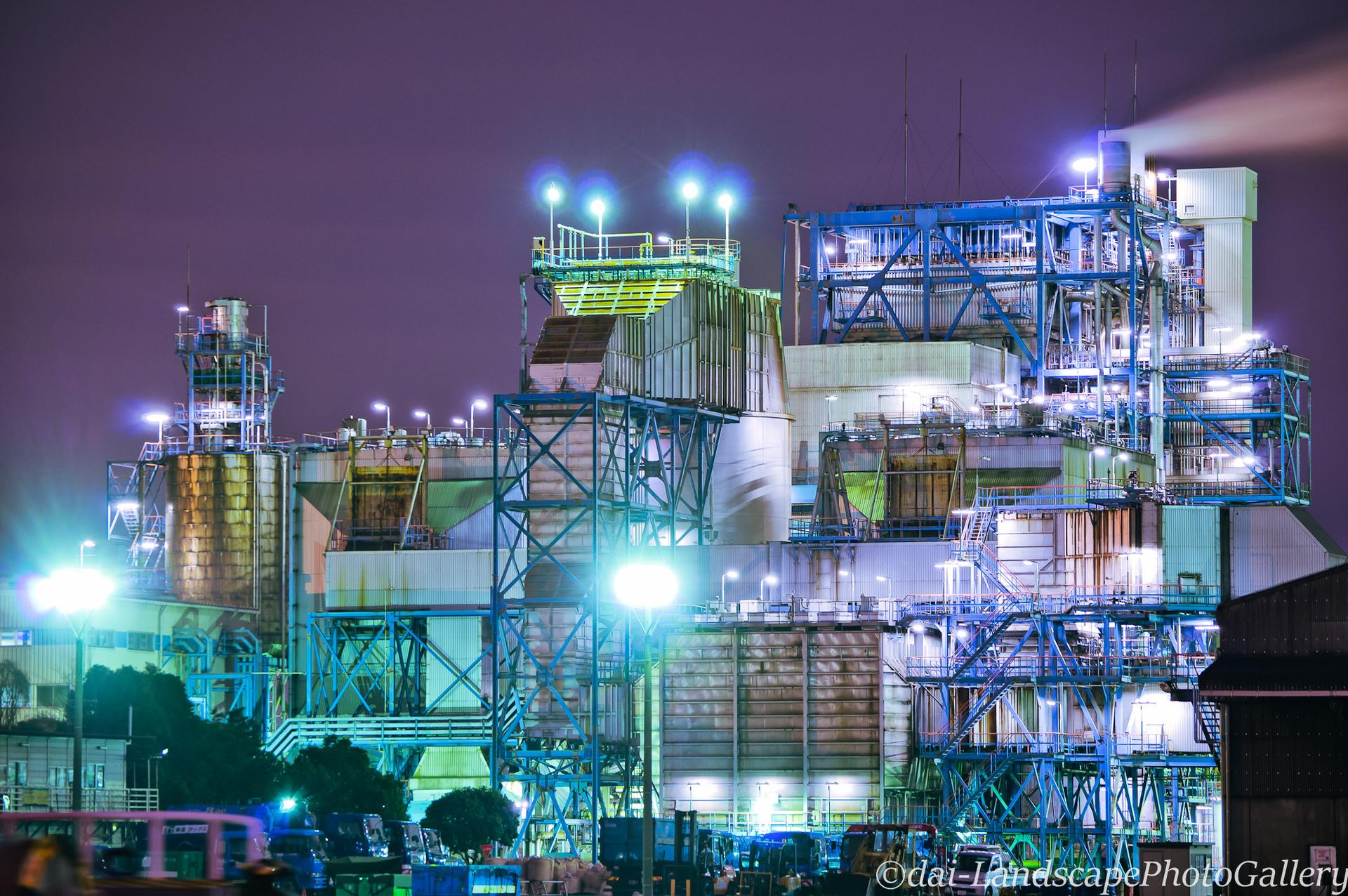 川崎夜光工場夜景