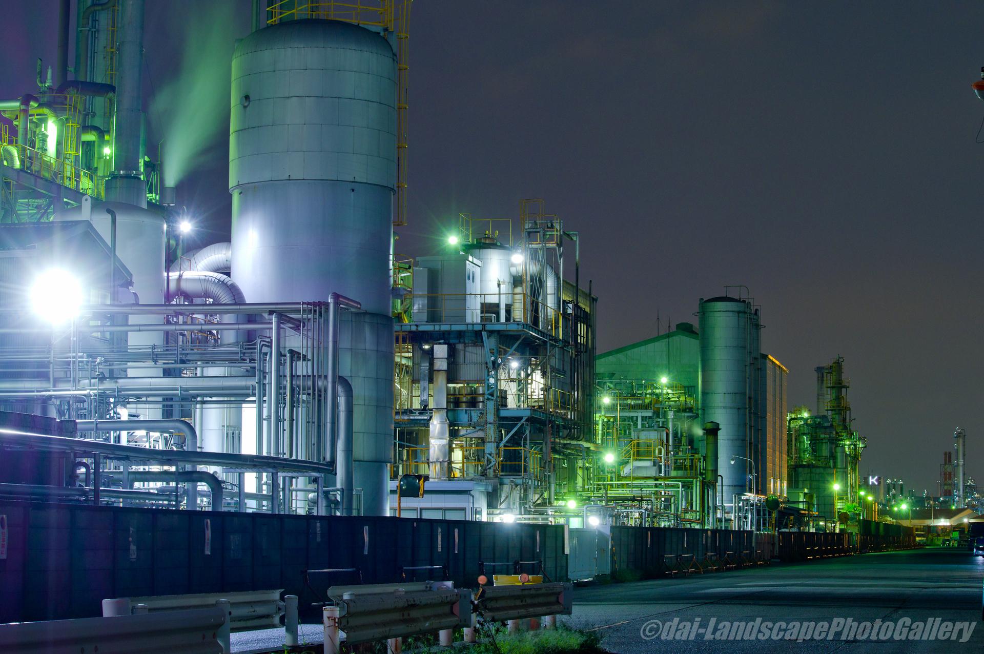 川崎千鳥町工場夜景