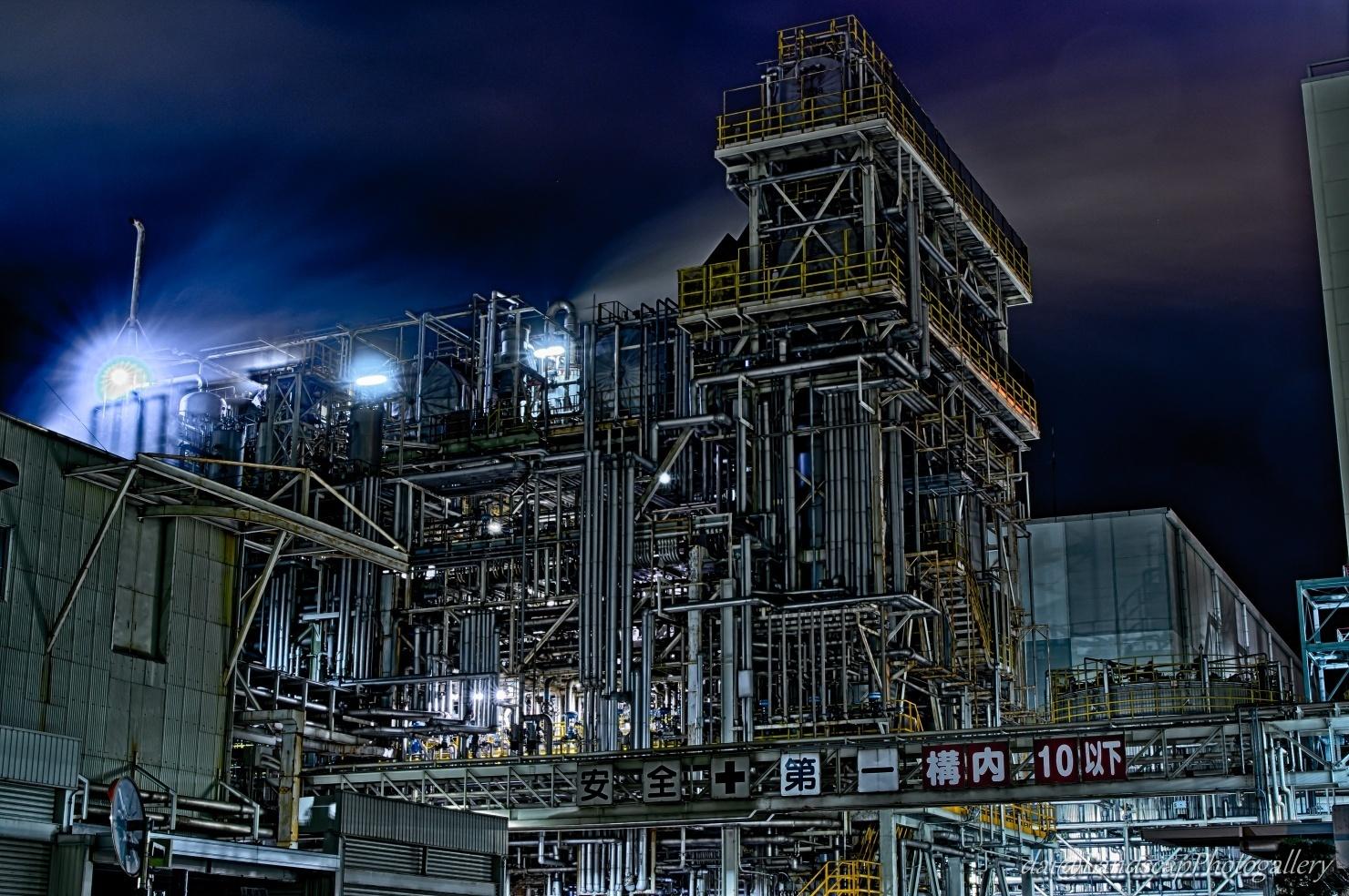 工場夜景【HDRi】