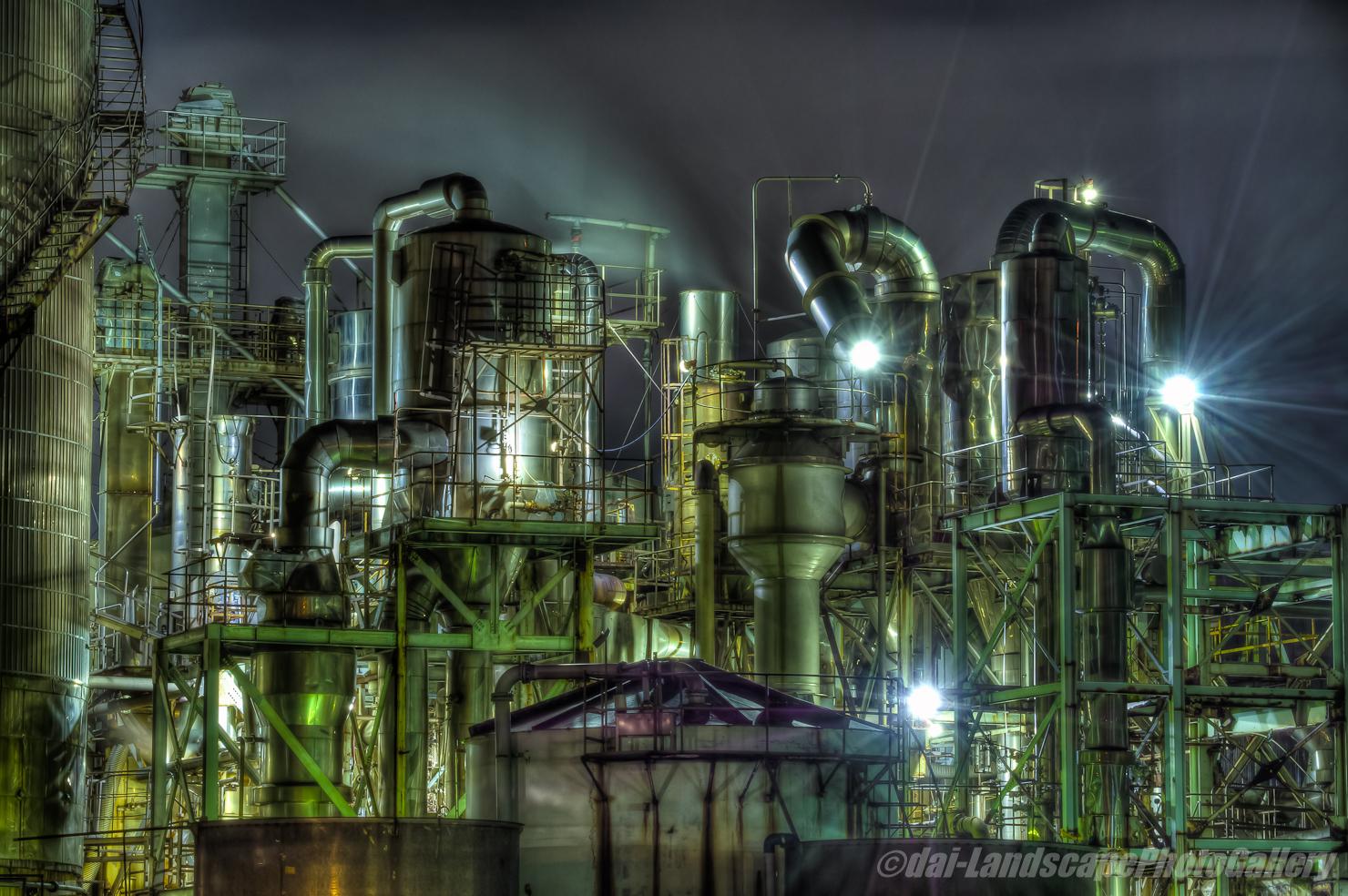 日本精塩 工場夜景【HDRi】