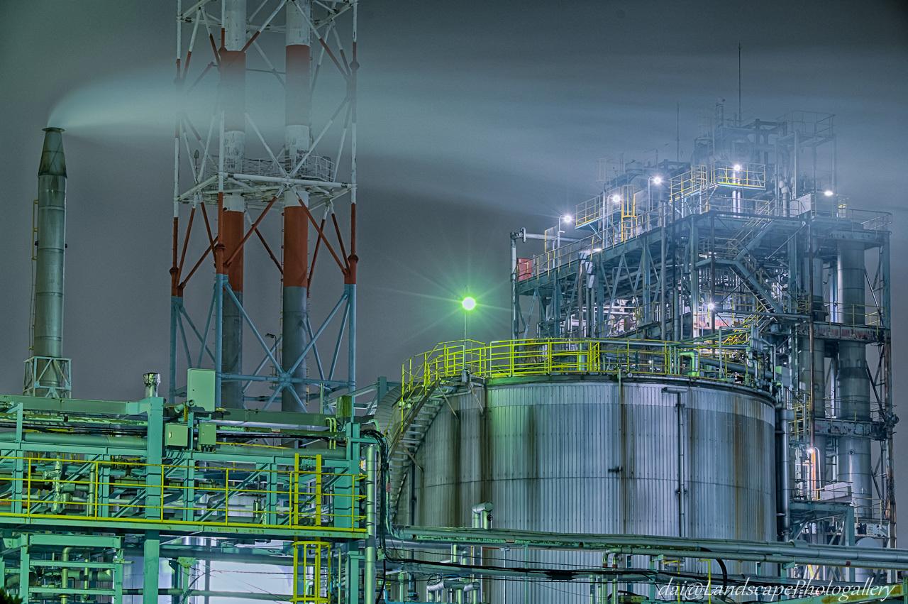 川崎工場夜景【HDRi】