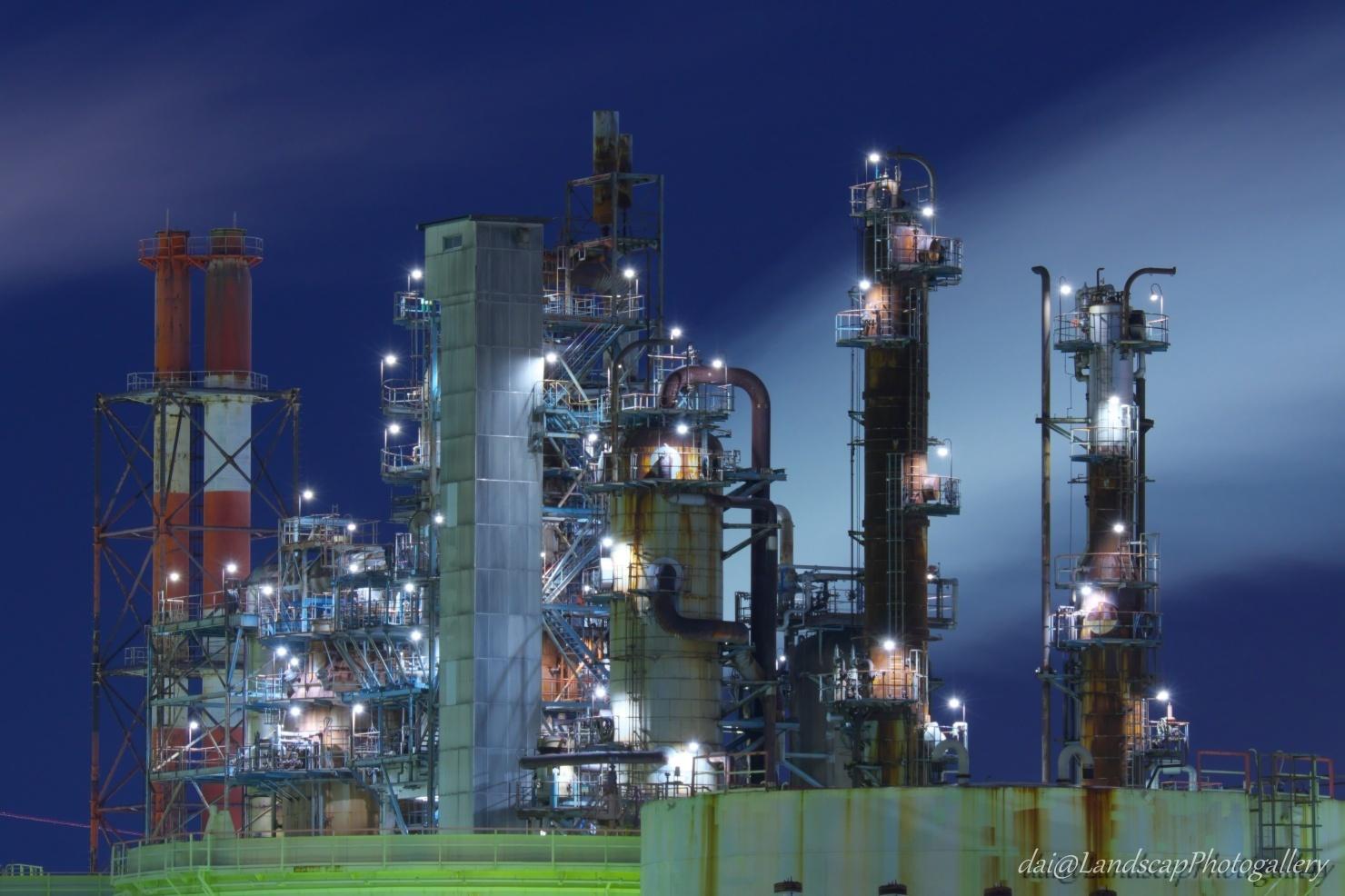 川崎夜光の工場夜景