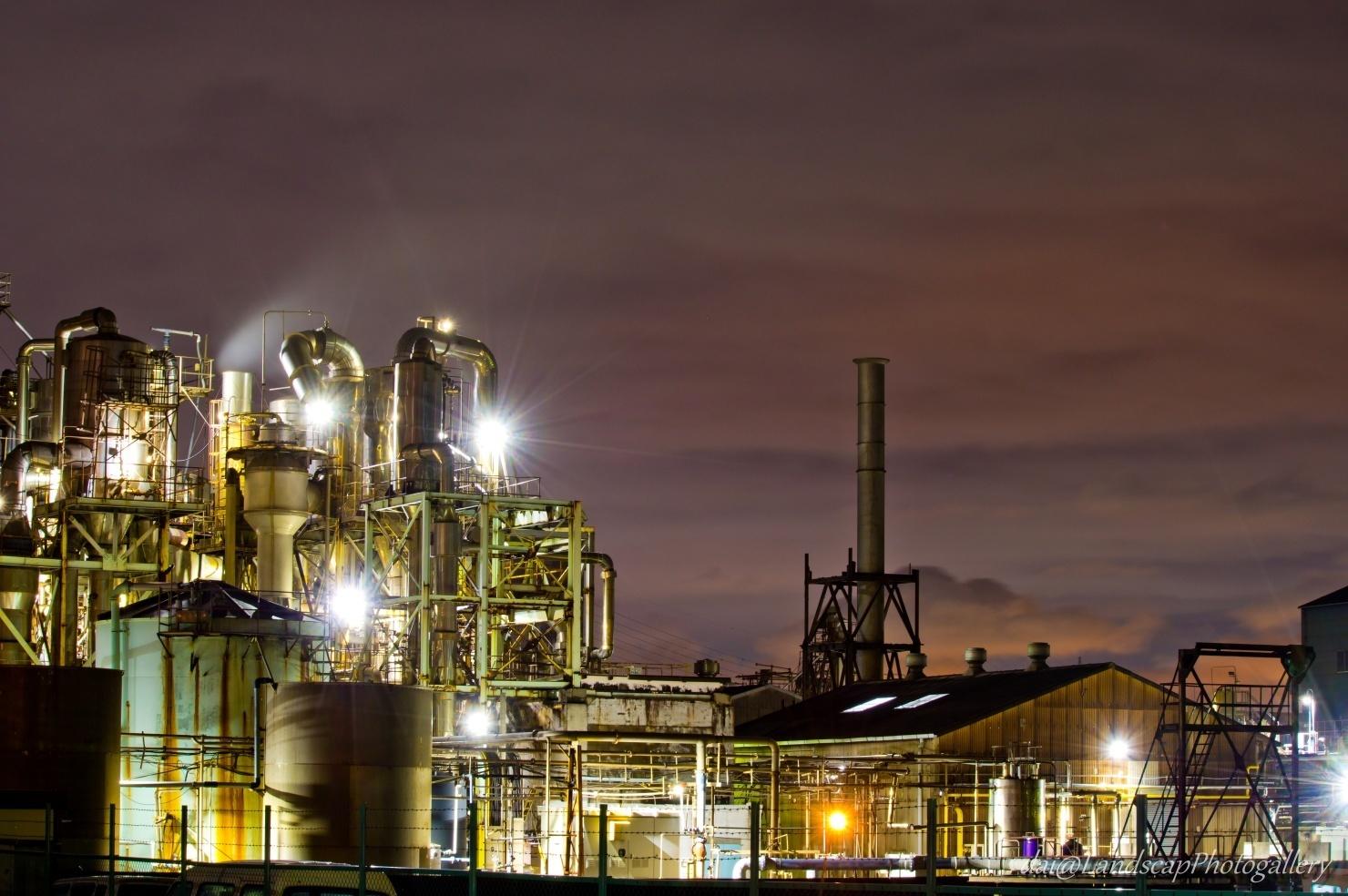 日本精塩工場夜景