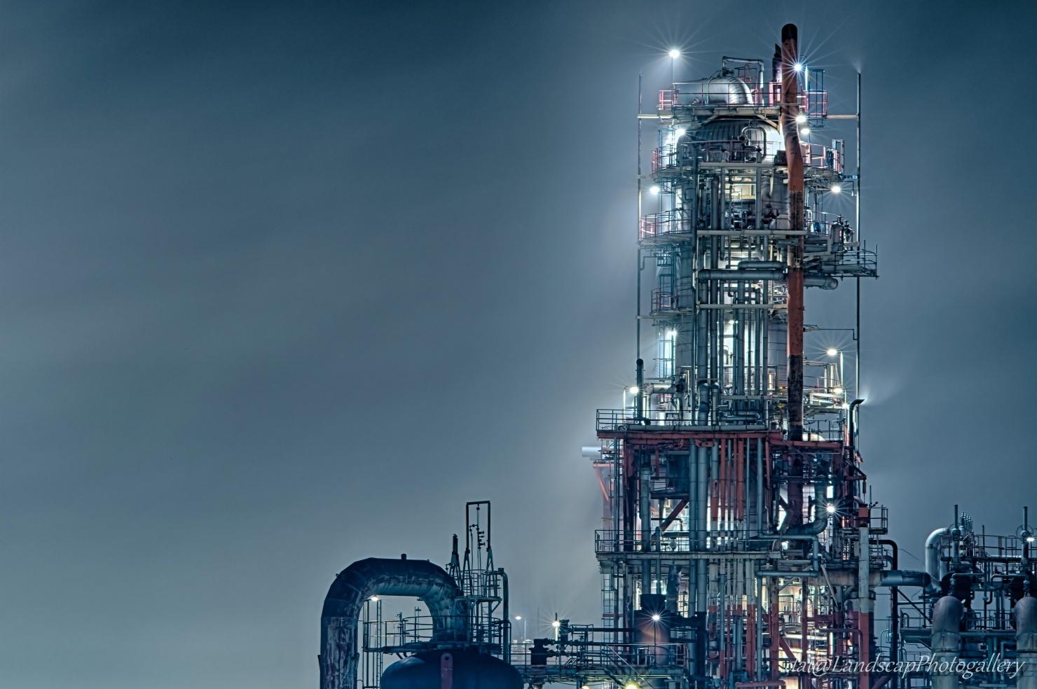 東亜石油フレシキコーカー夜景【HDRi】