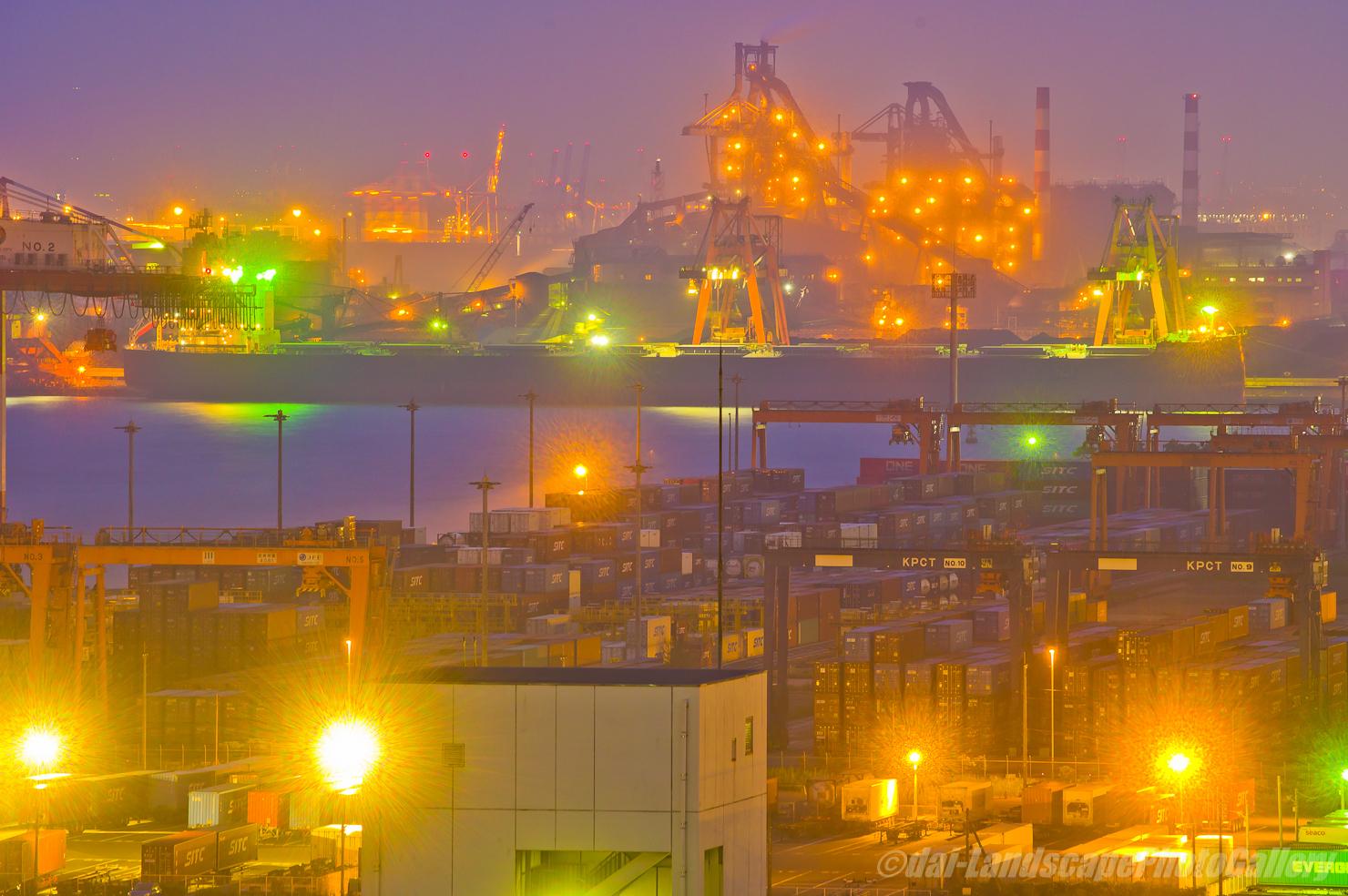 川崎マリエン 川崎港の夜景